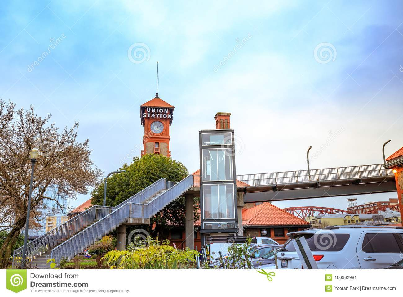 The Portland Union Station Is An Amtrak Train Station