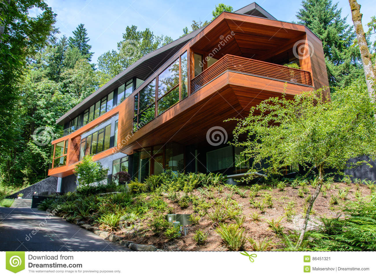 Portland Oregon Usa June 12 2015 View Of The Famous Cullen House From The Movie Saga Twilight Editorial Photo Image Of States Oregon 86451321