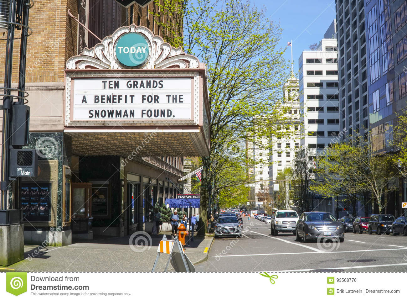 Download Portland Theater - Arlene Schnitzer Concert Hall - PORTLAND - OREGON - APRIL 16, 2017 Editorial Photo - Image of people, vacation: 93568776