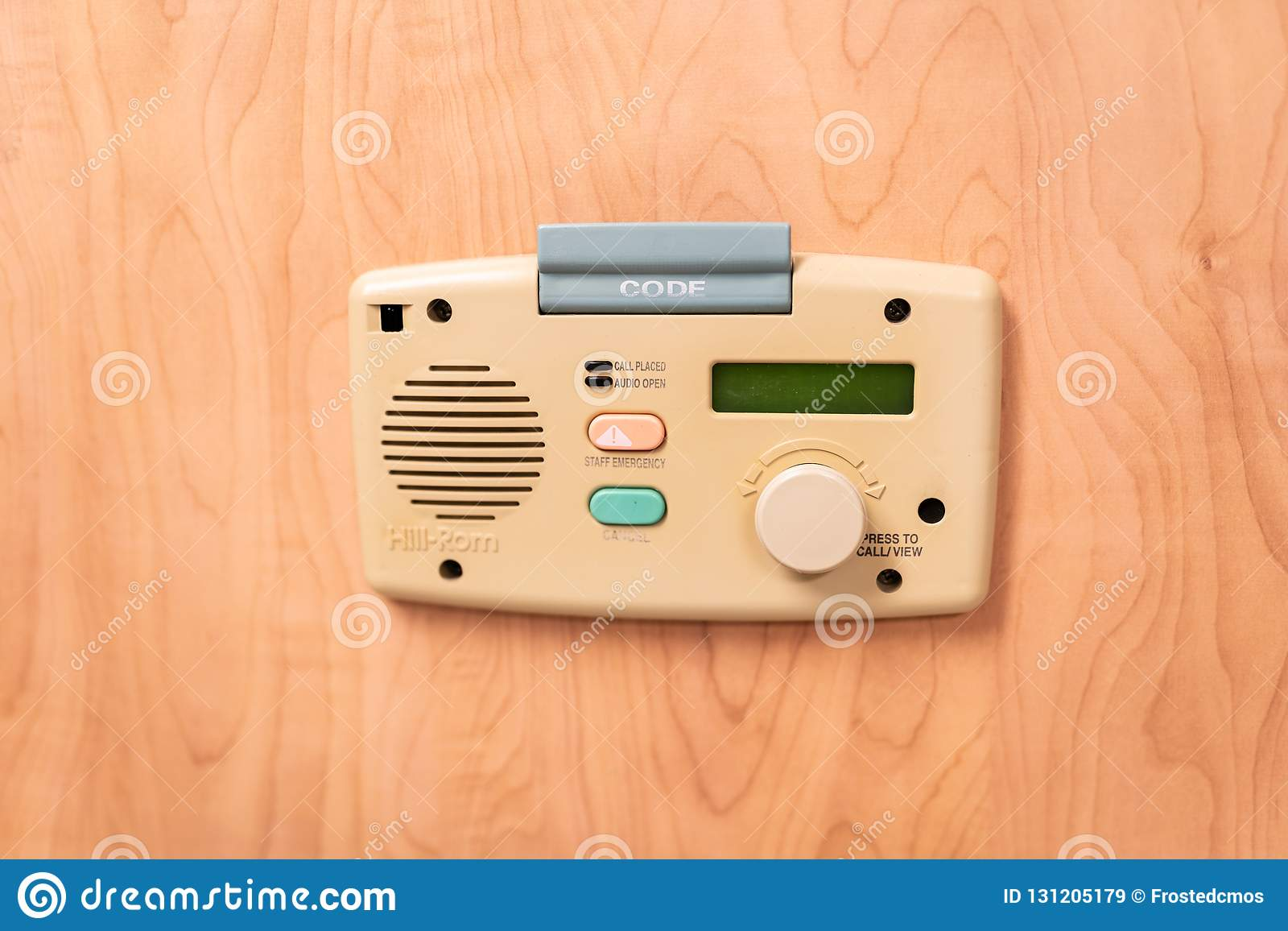 Patient-doctor communication system in emergency room