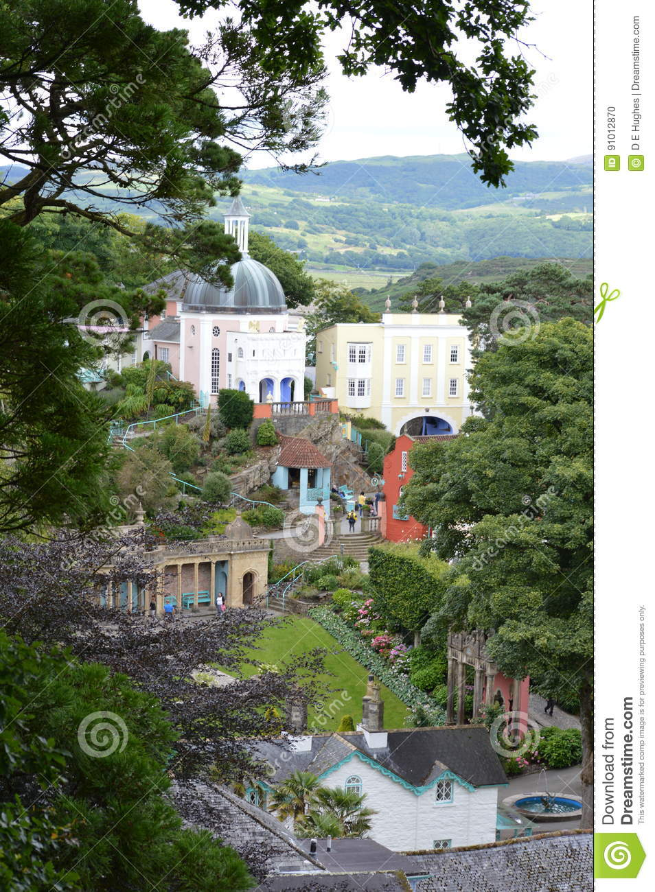 Portmerion Village in Wales