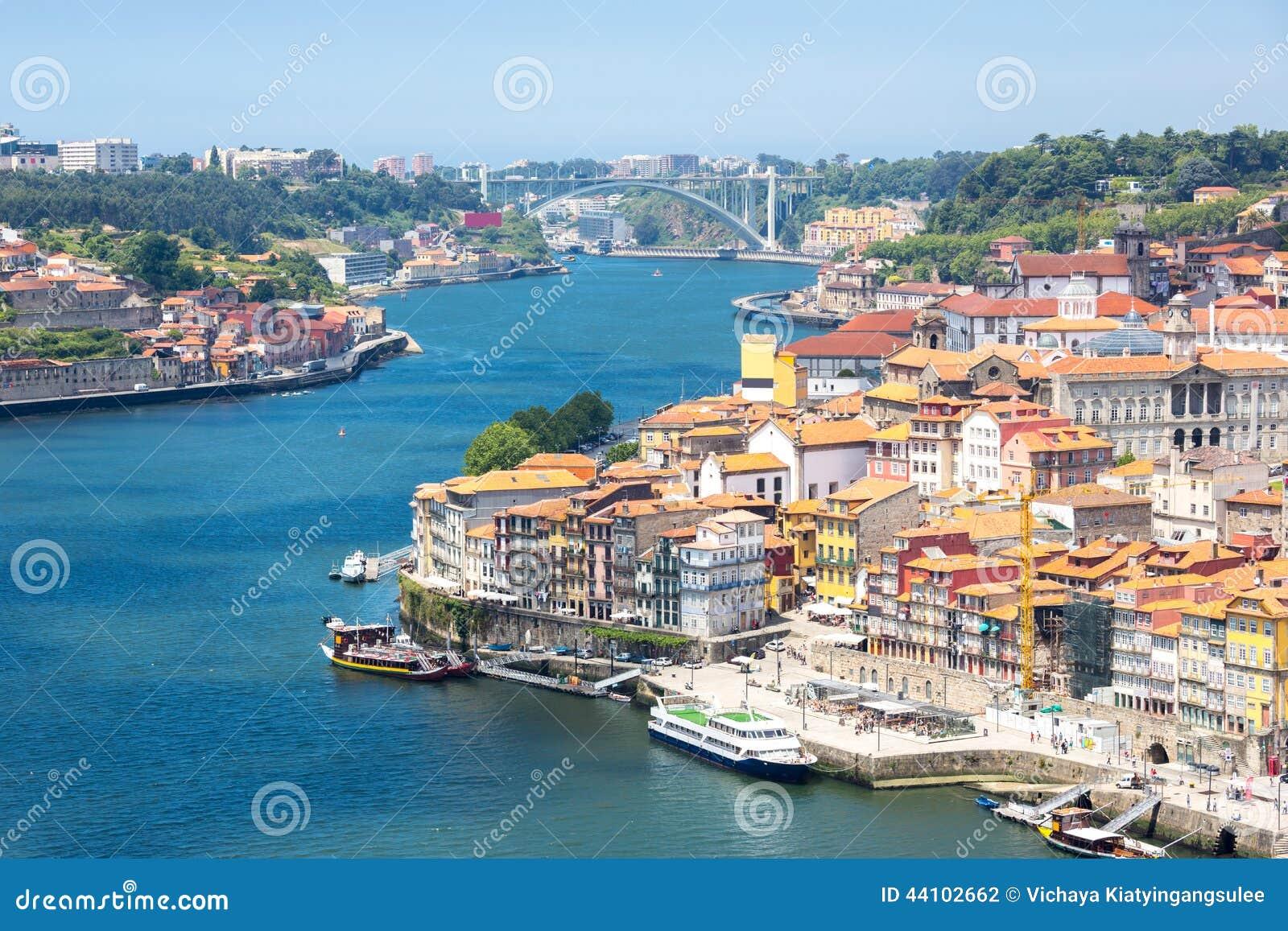 Porto antyczny miasteczko Portugalia