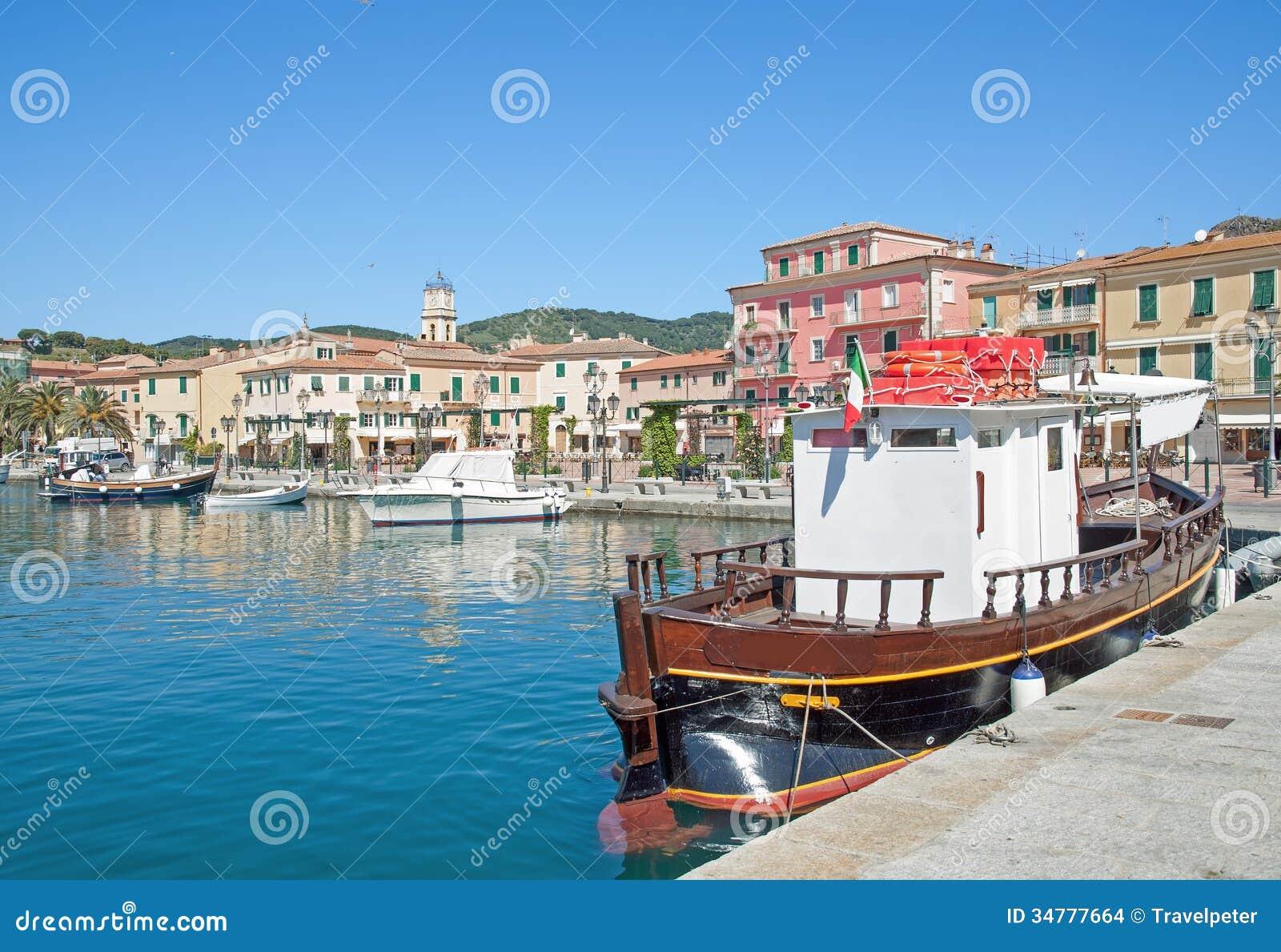 Porto Azzurro Italy  city photo : Porto Azzurro,Elba Island,Tuscany,Italy Stock Images Image: 34777664