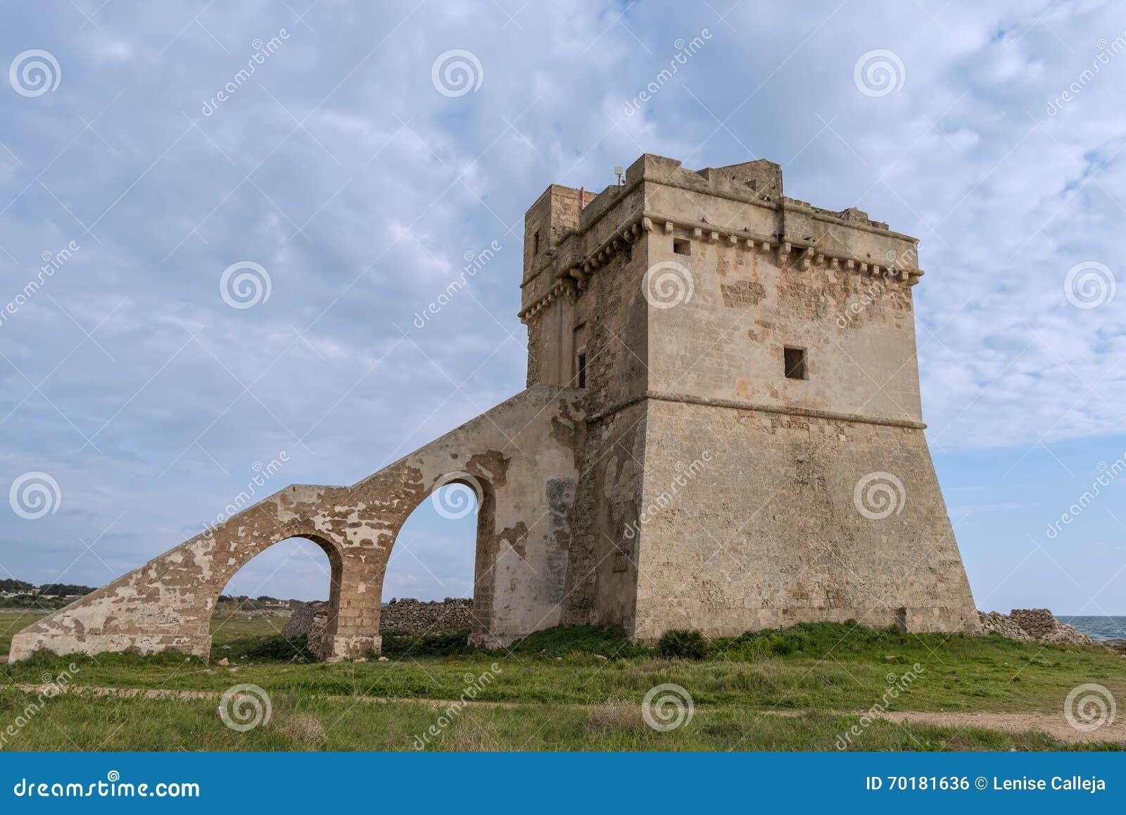 Porto Cesareo i Puglia, Italien