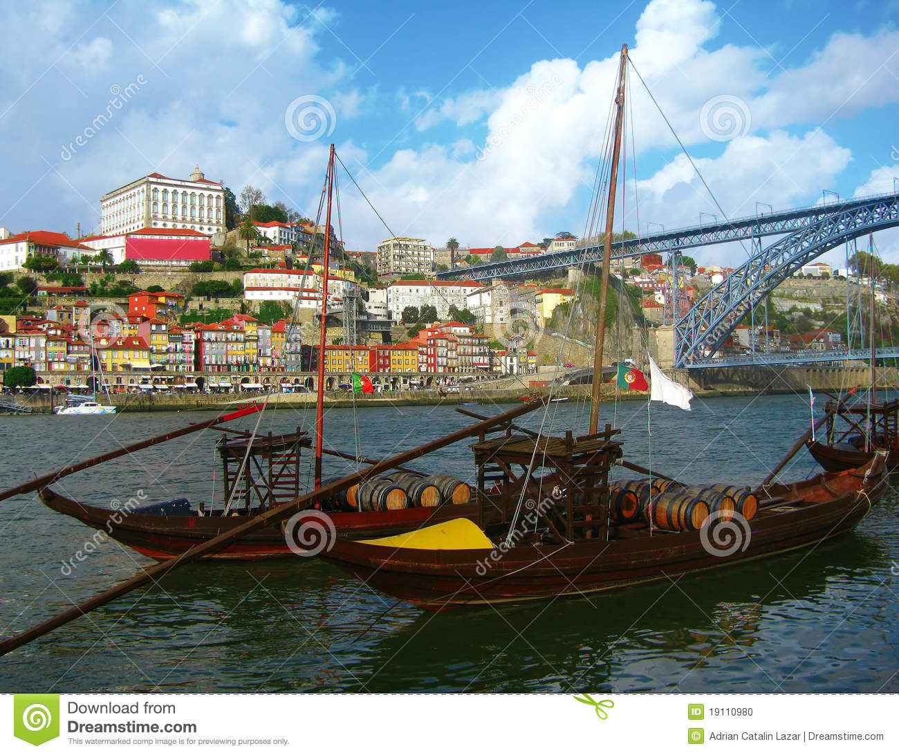Porto: Porto City, Portugal Stock Photo. Image Of City, Porto