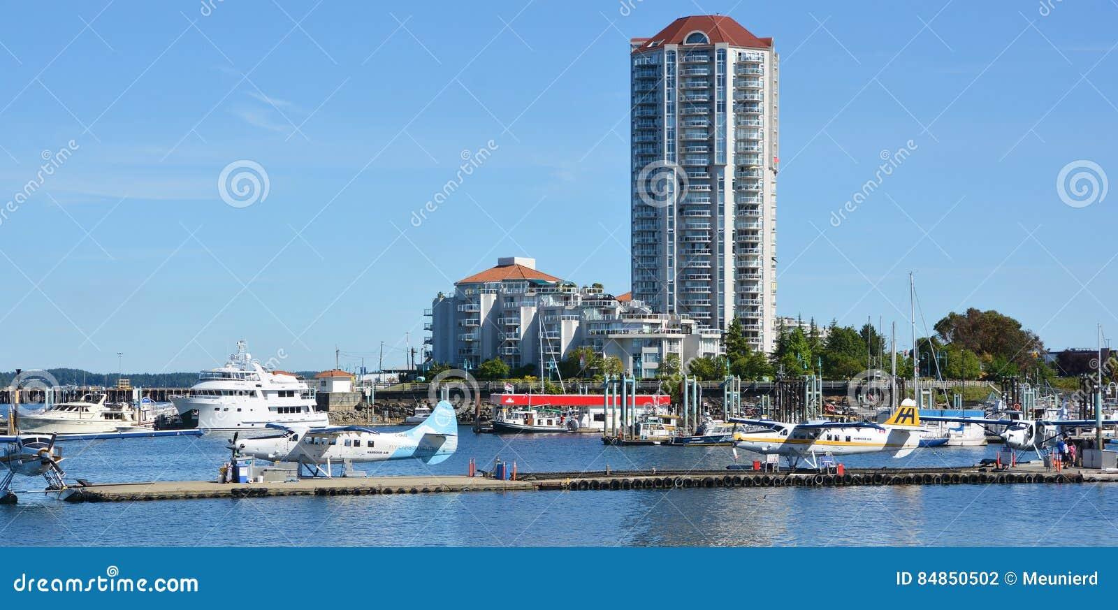 Porto da autoridade portuária de Nanaimo