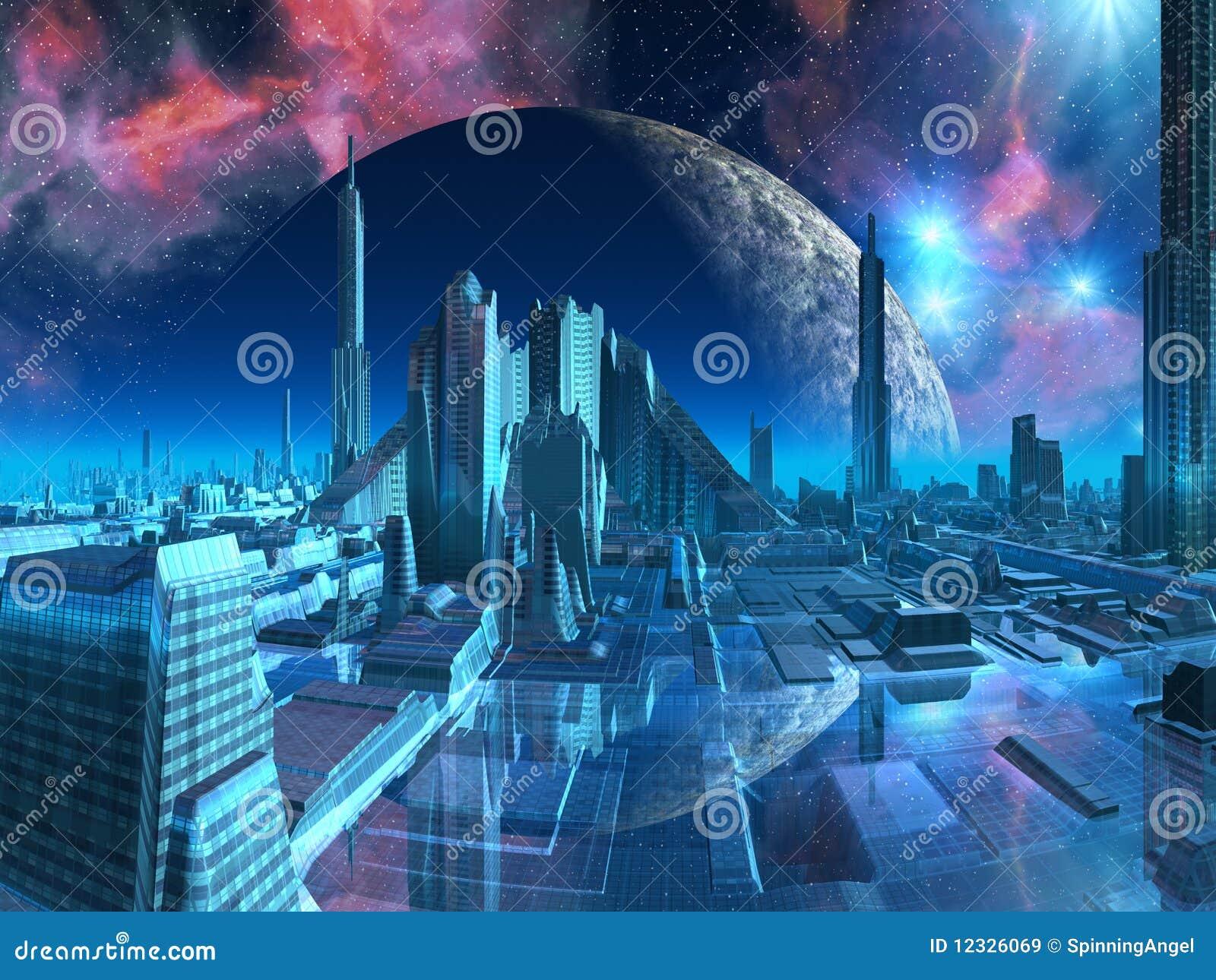 Porto da cidade do Aquarius