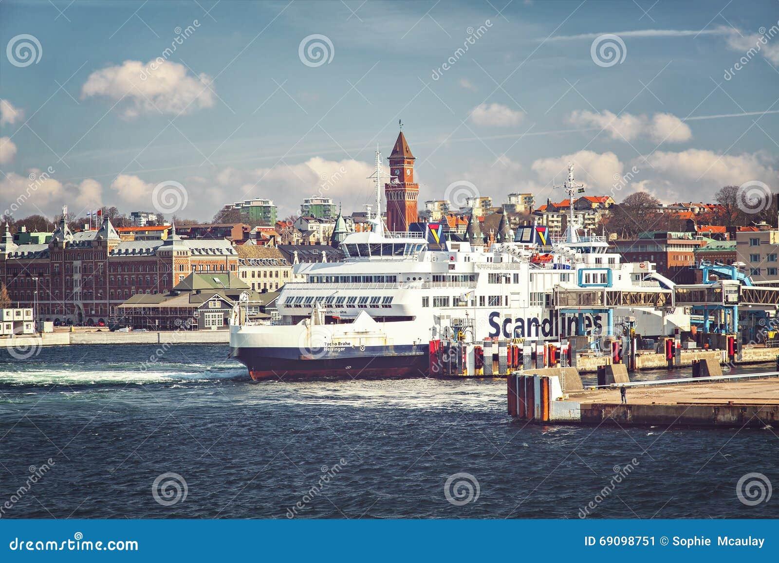 Porto de balsa de Helsingborg