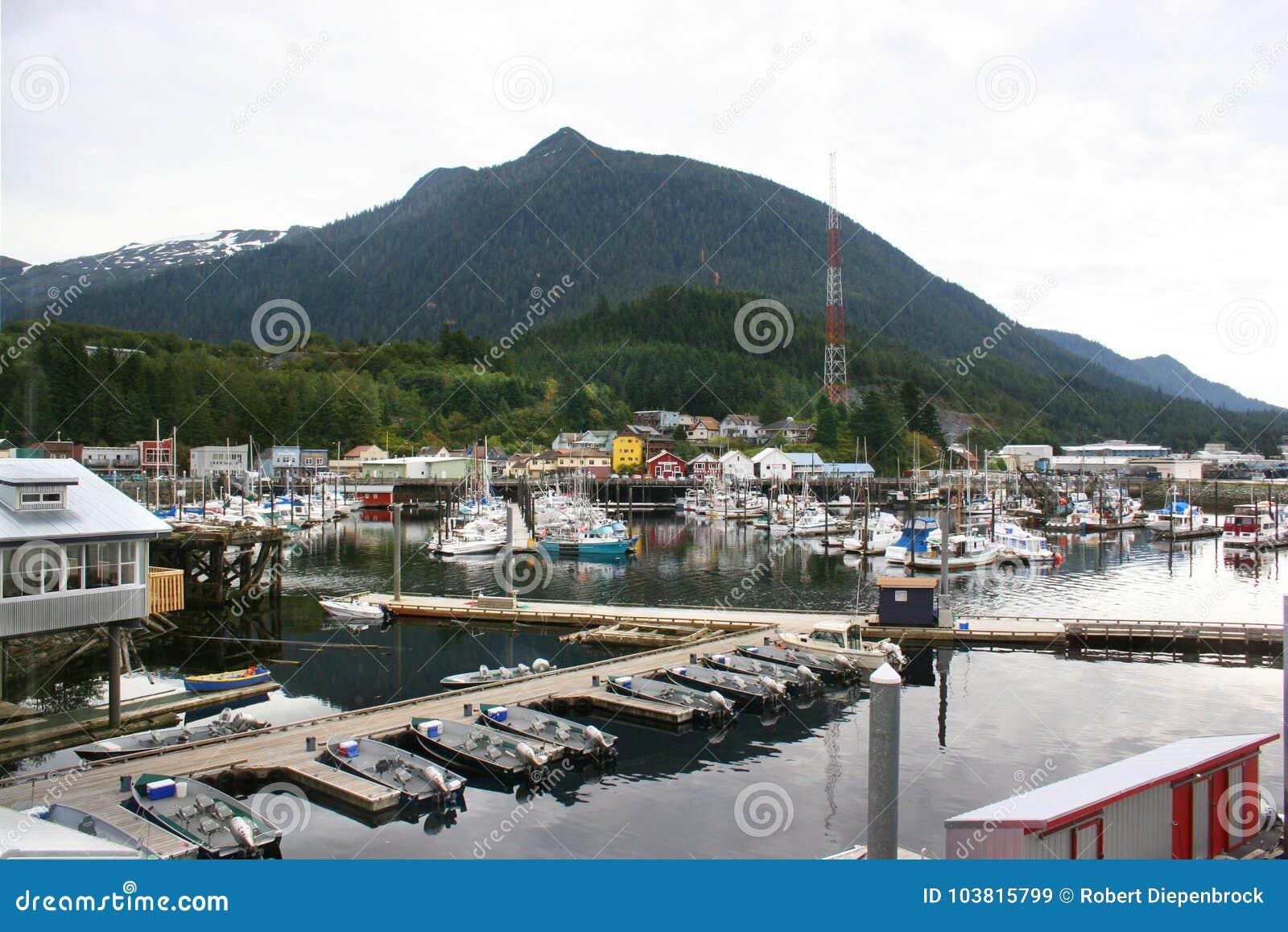 Porto de Ketchikan Alaska