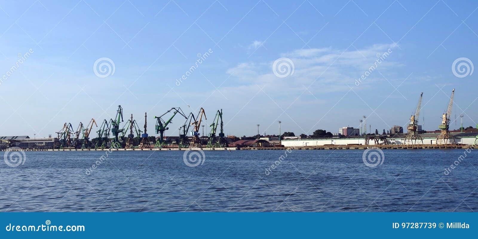 Porto de Klaipeda, Lituânia