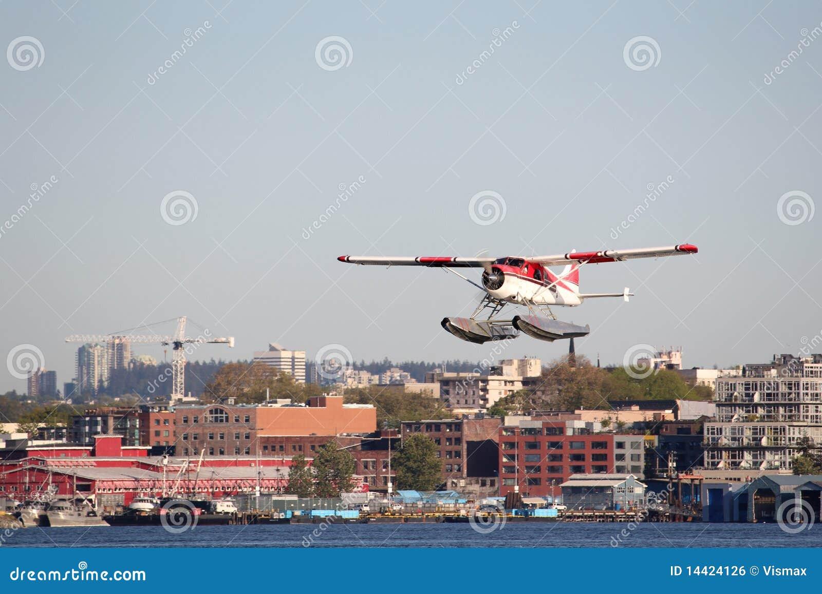 Porto de partida de Vancôver do Seaplane