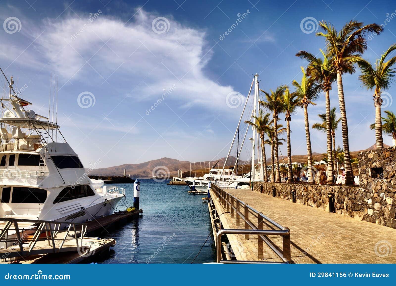 Puerto Calero em Lanzarote