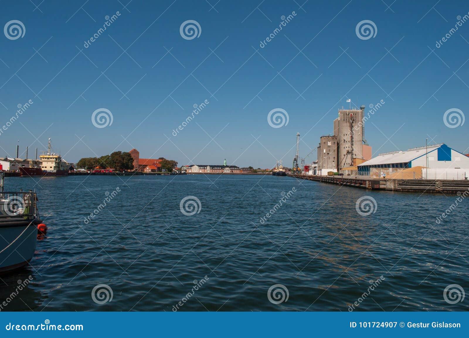 Porto di Korsoer in Danimarca