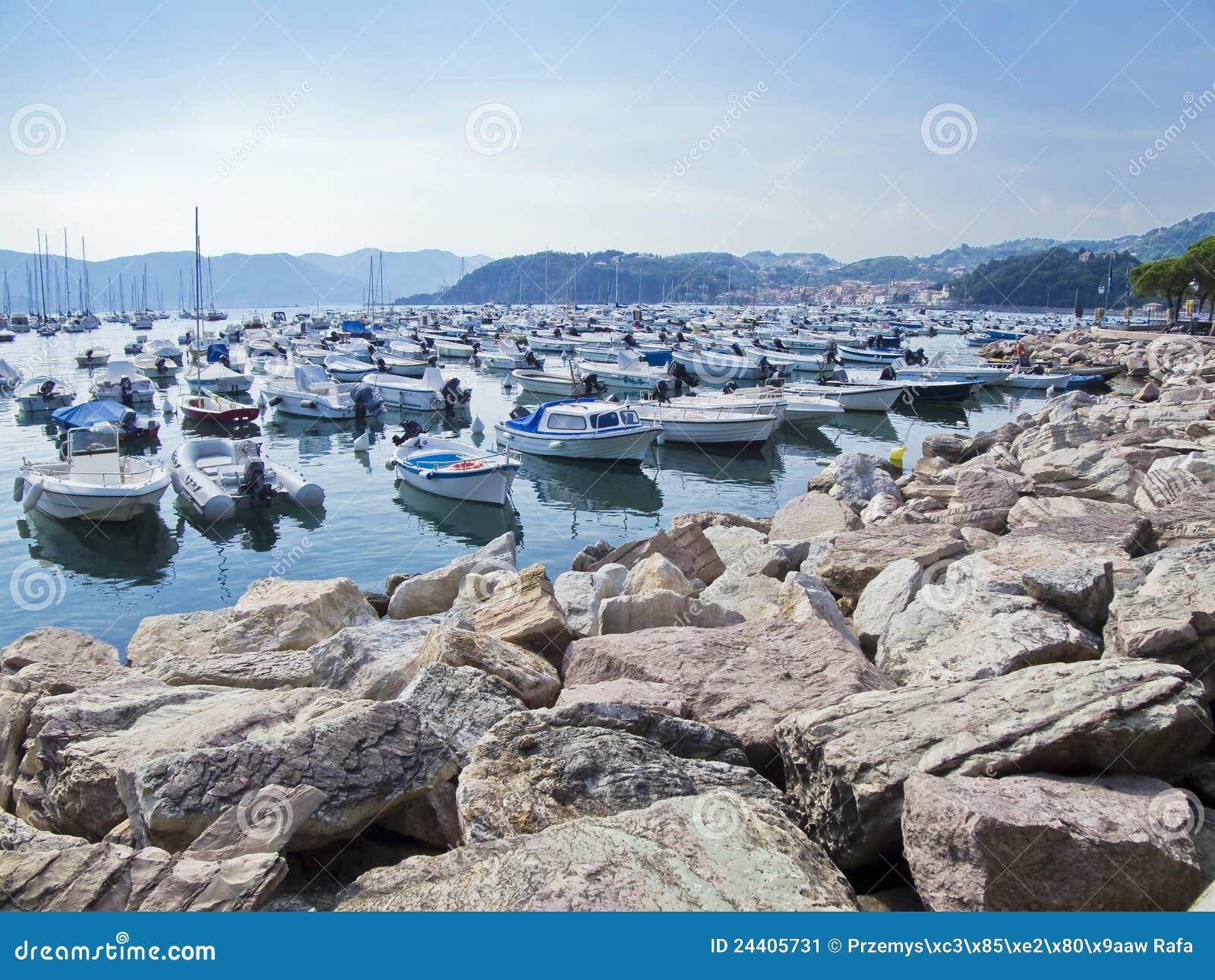Porto di Lerici. La Spezia. Liguria. Italy.