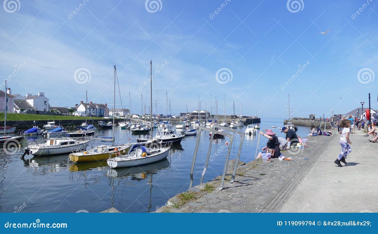 Porto di Newquay nel Galles Regno Unito