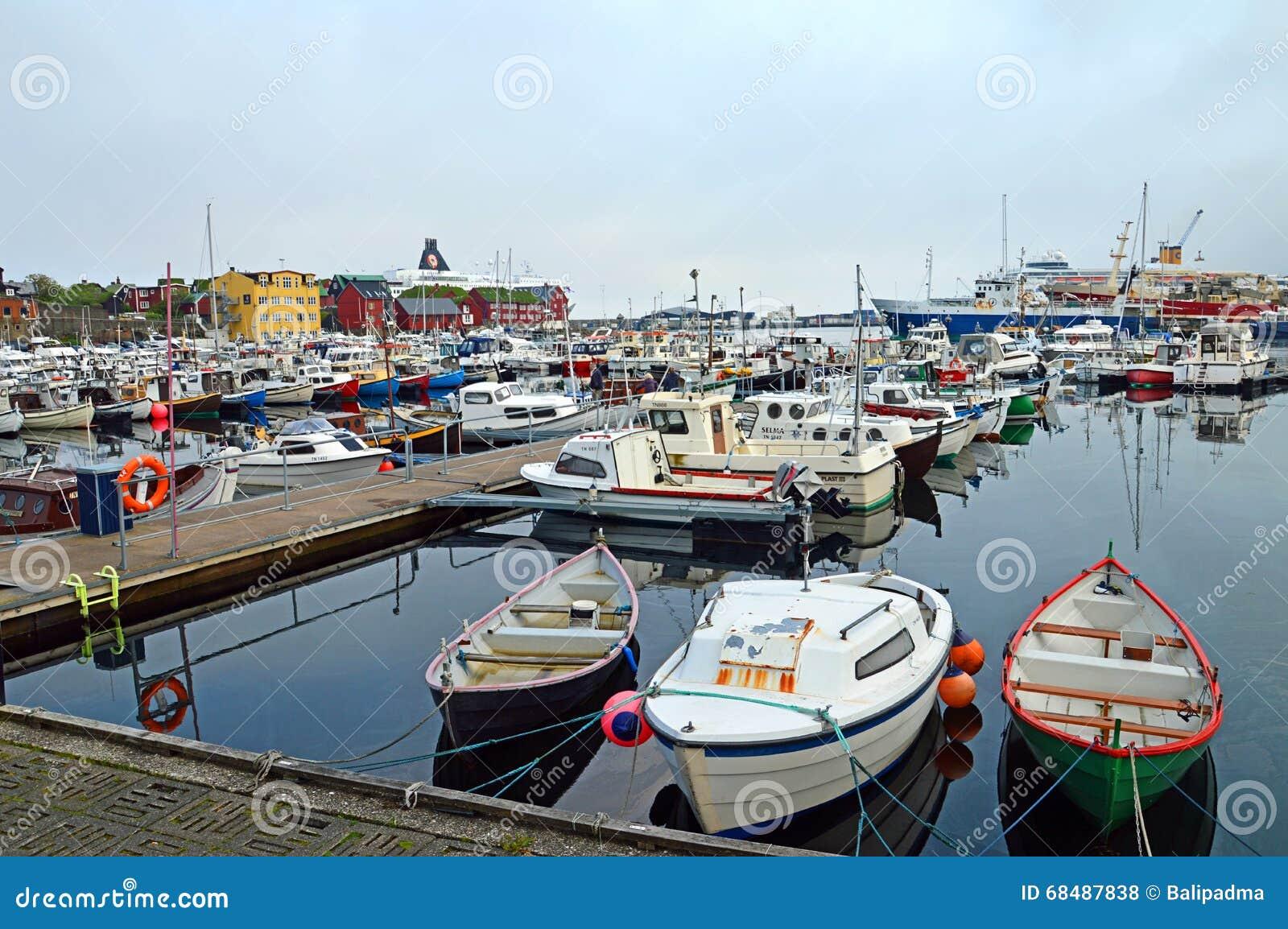 Porto di Torshavn, isole faroe