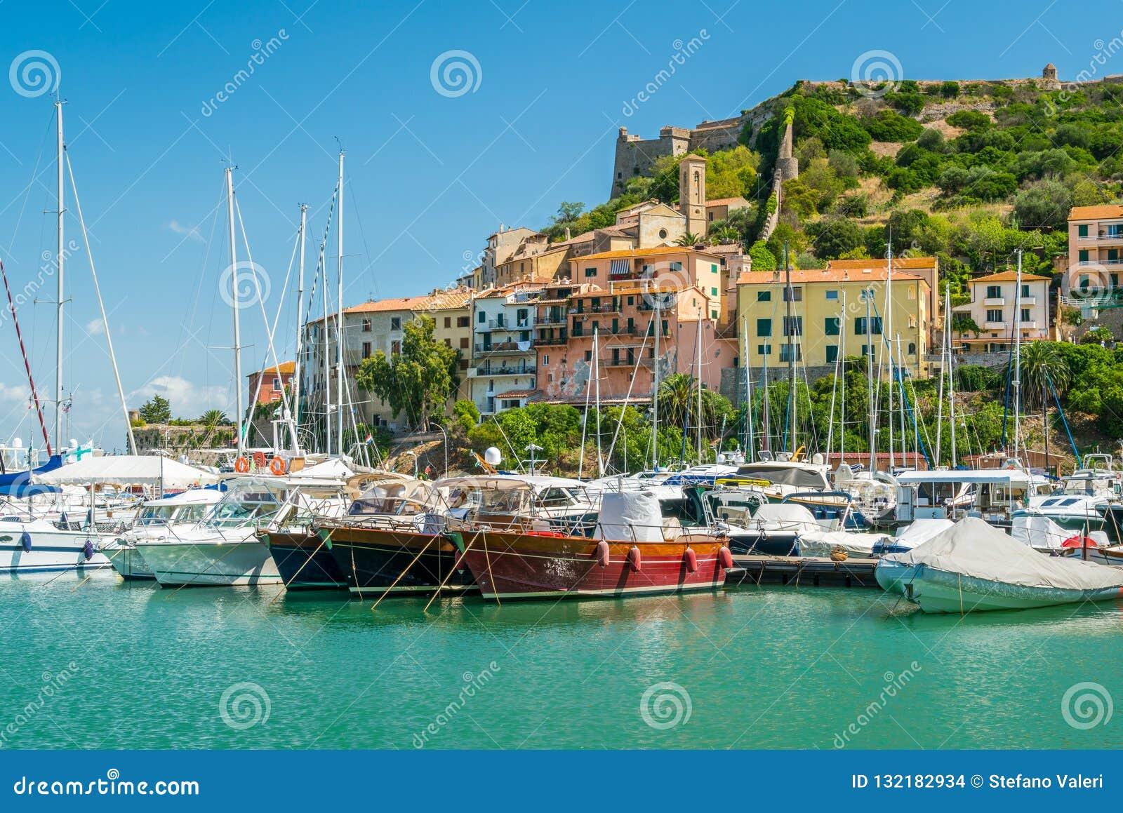 Porto Ercole, in Monte Argentario, in the Tuscany region of Italy.