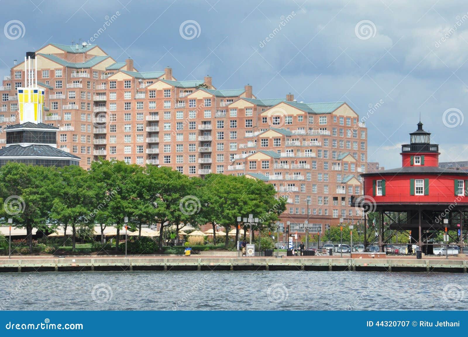 Porto interno em Baltimore, Maryland