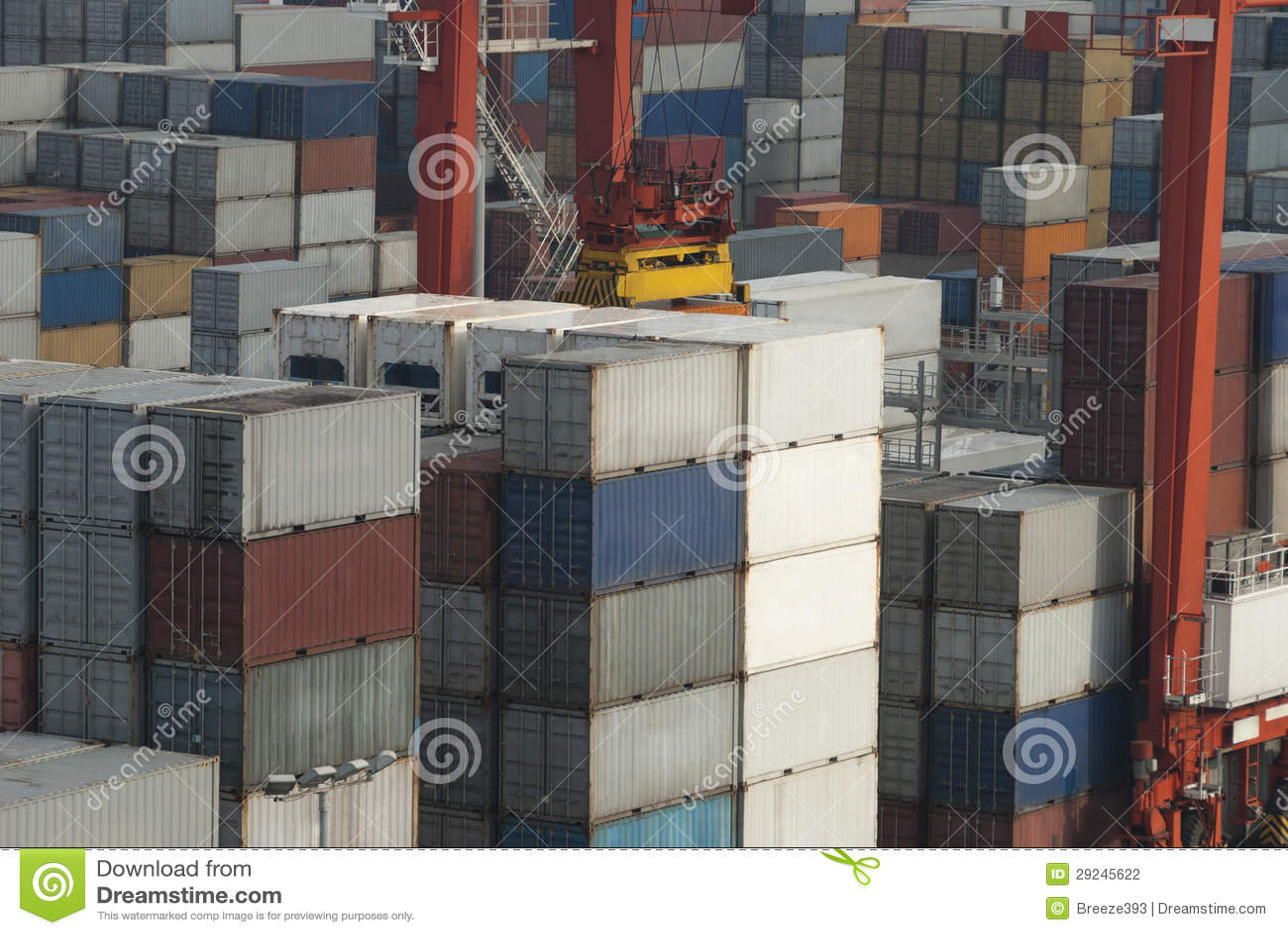 Download Porto Marítimo, Colombo, Sri Lanka Foto de Stock - Imagem de indústria, colombo: 29245622