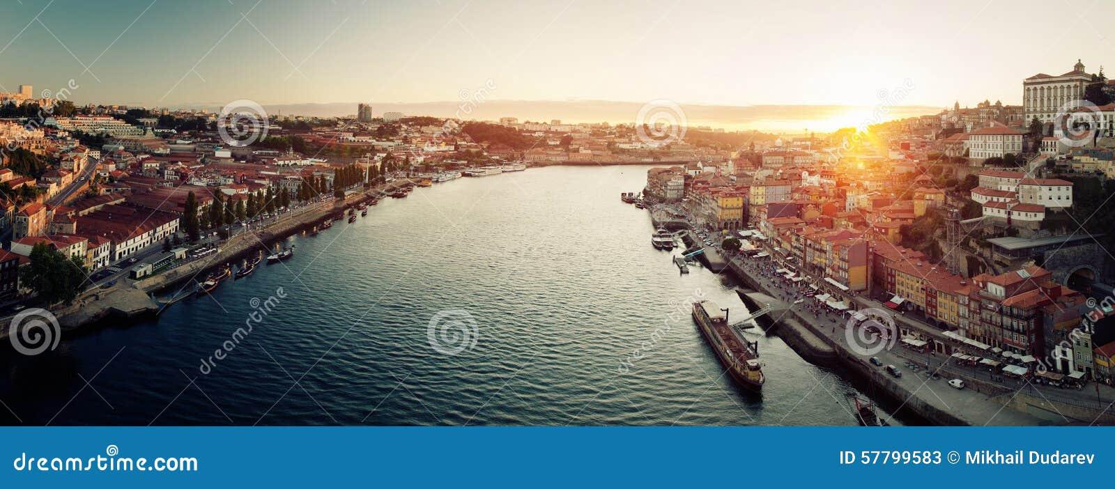 Porto miasta panorama