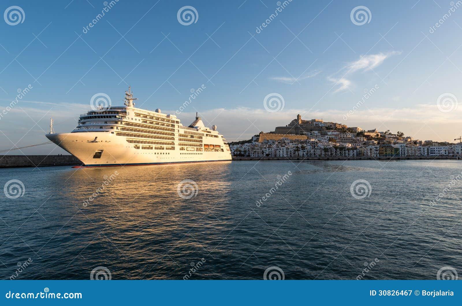 Porto nella città di Ibiza, Isole Baleari