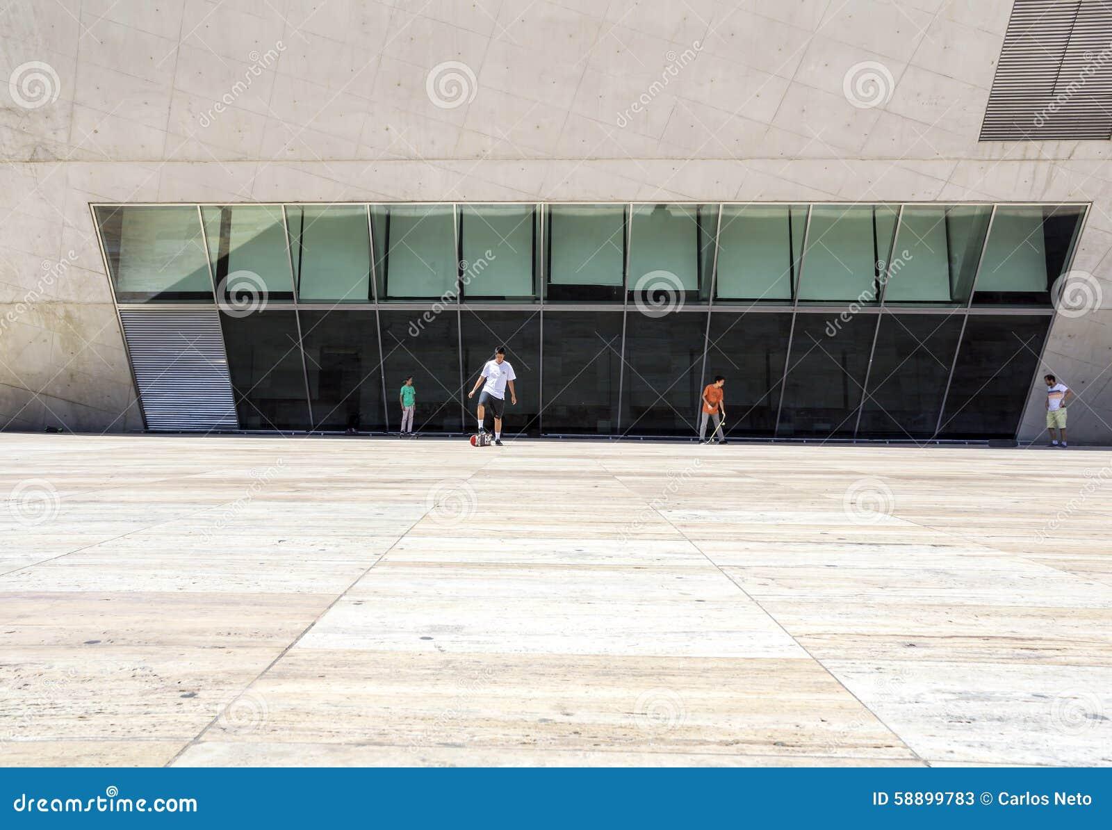 Porto portugal july 05 2015 view of casa da musica for Contemporary house music