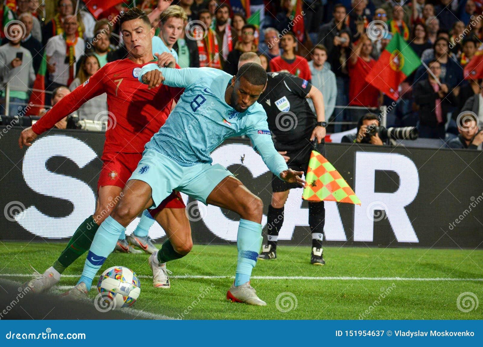 PORTO, PORTUGLAL - June 09, 2019: Cristiano Ronaldo And ...