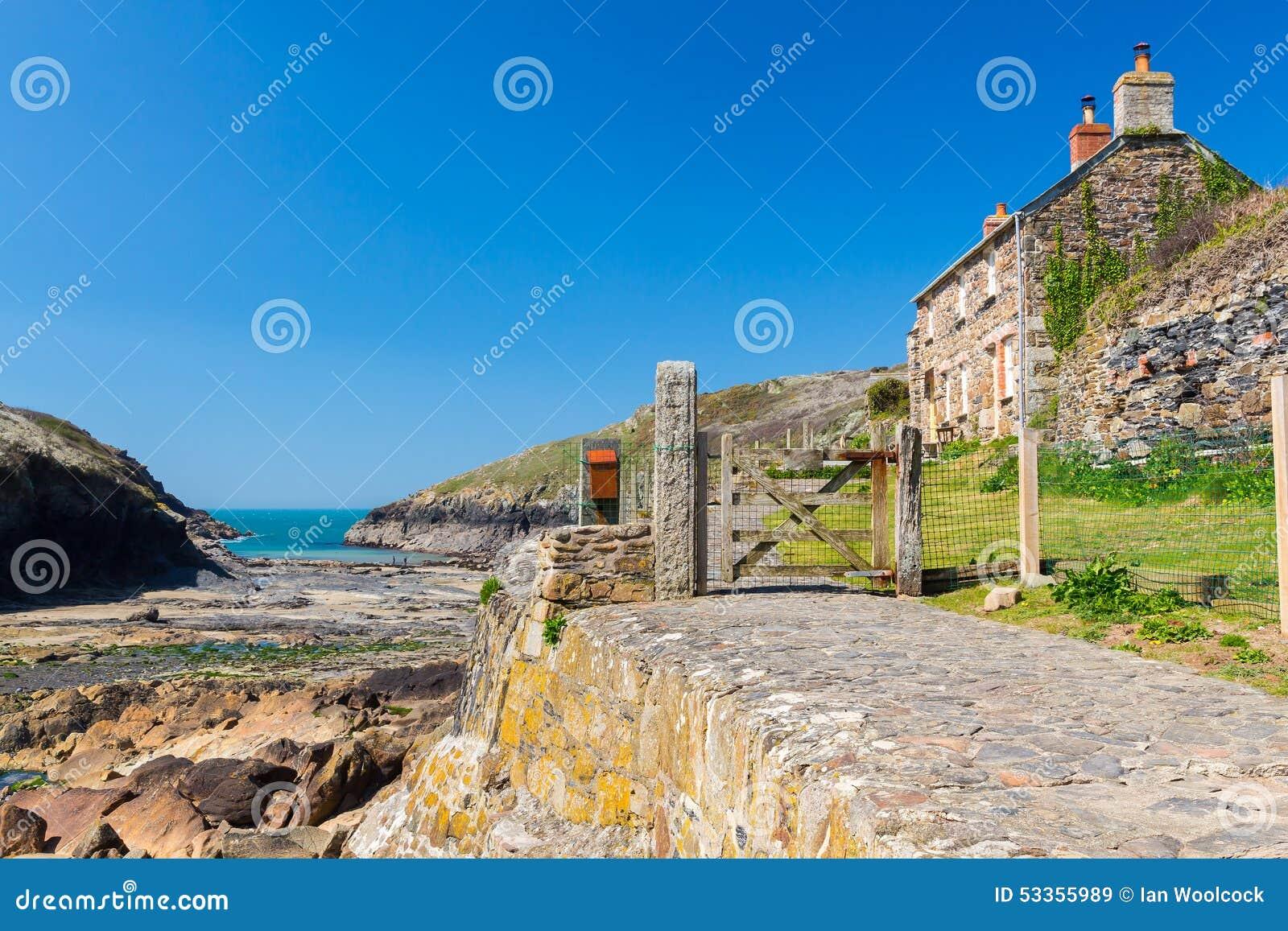 Porto Quin Cornwall England