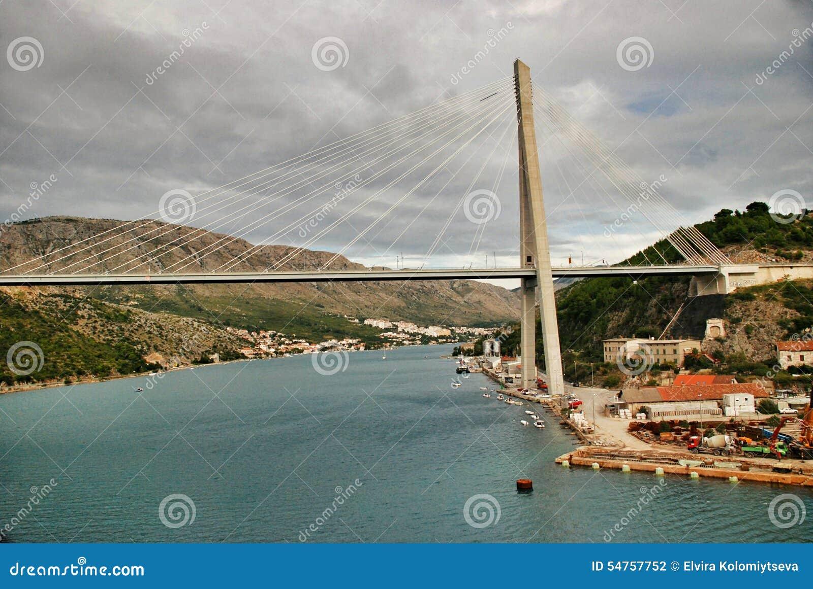 Porto Ragusa di Gruz del ponte di Tudjman