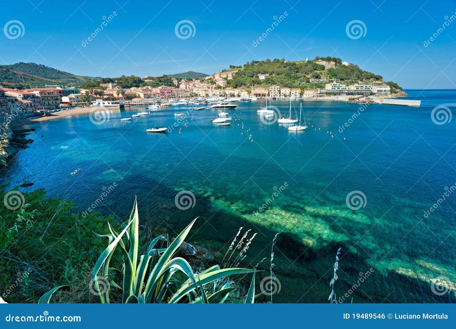Portoazzurro, Insel von Elba, Italien.