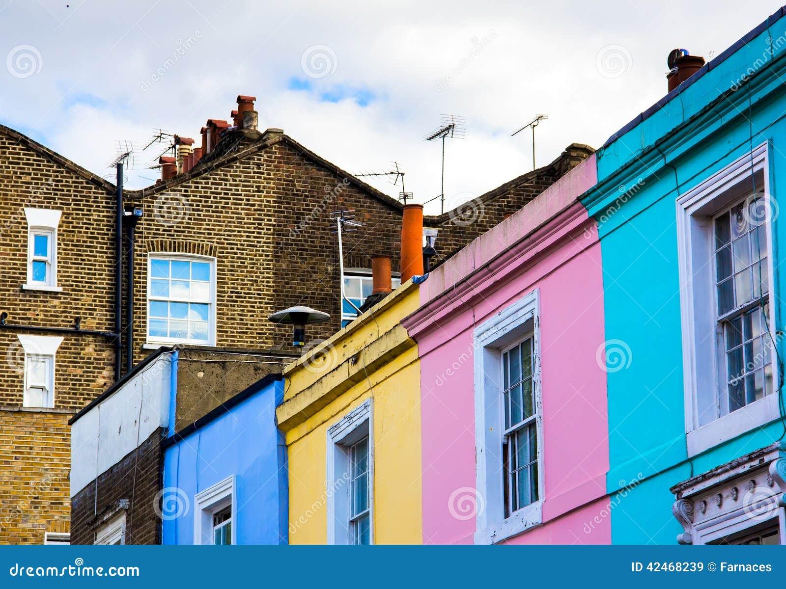 Portobello-Straßenhäuser
