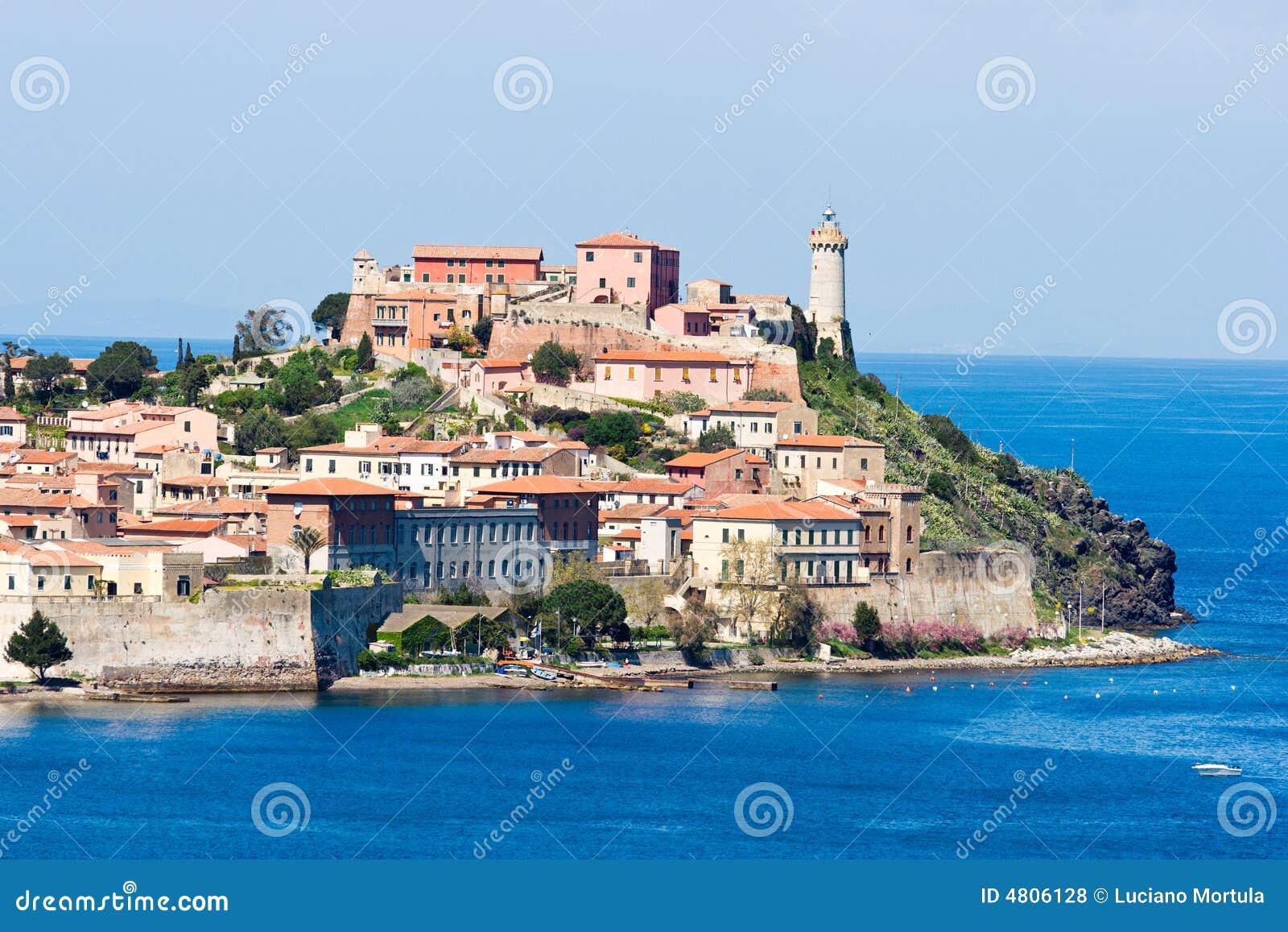 Portoferraio, Insel von Elba, Italien.