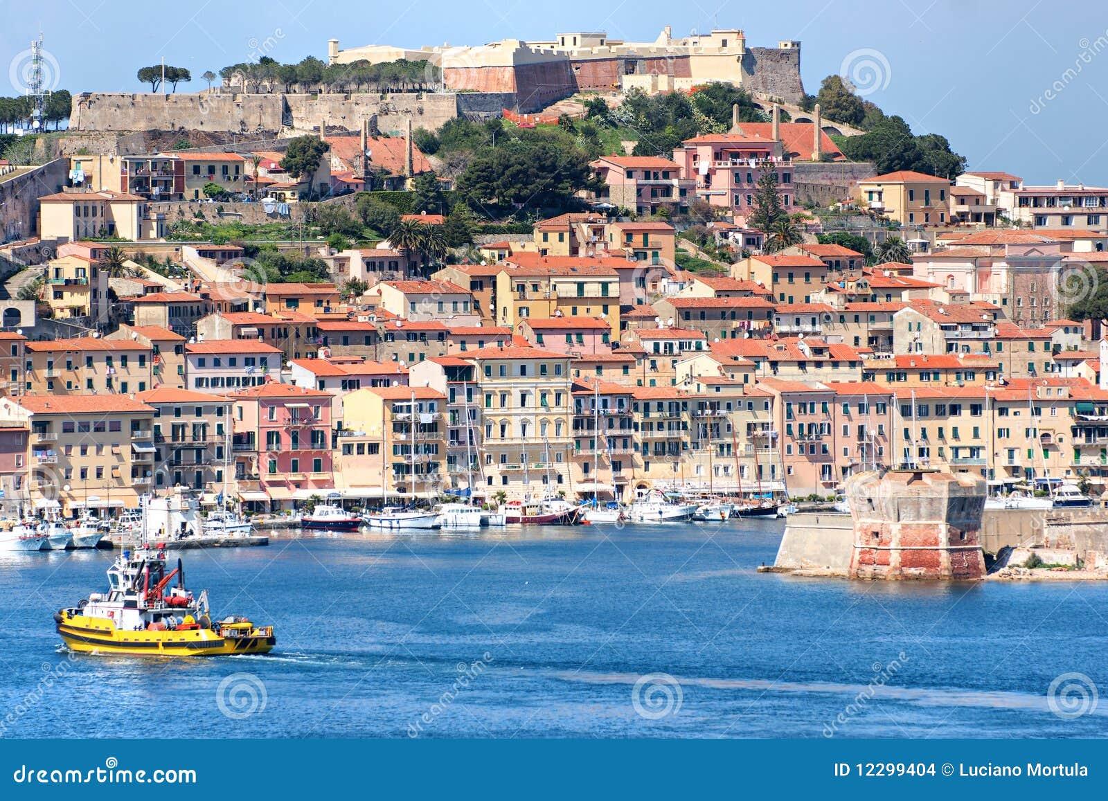 Portoferraio Italy  city pictures gallery : Portoferraio, Isle Of Elba, Italy. Stock Images Image: 12299404