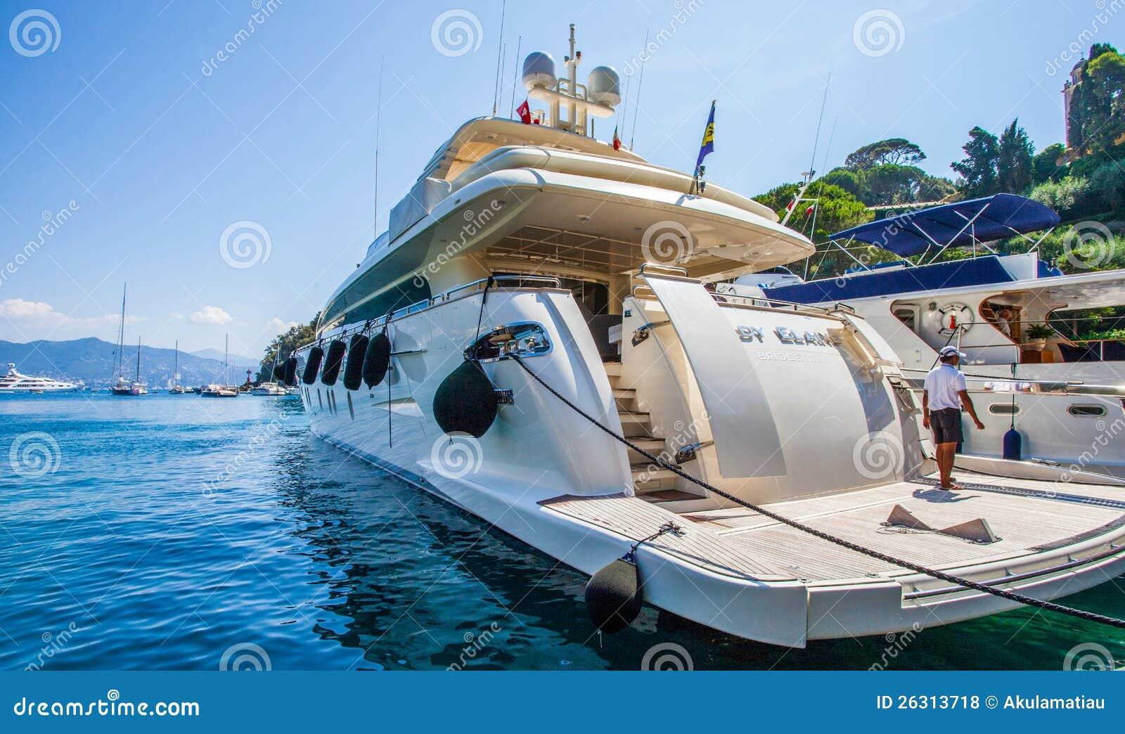 Portofino, Italië: De Boot van de luxe