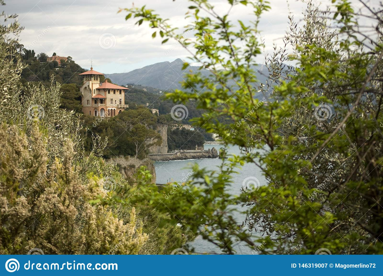 Portofino in Ligurien, Italien