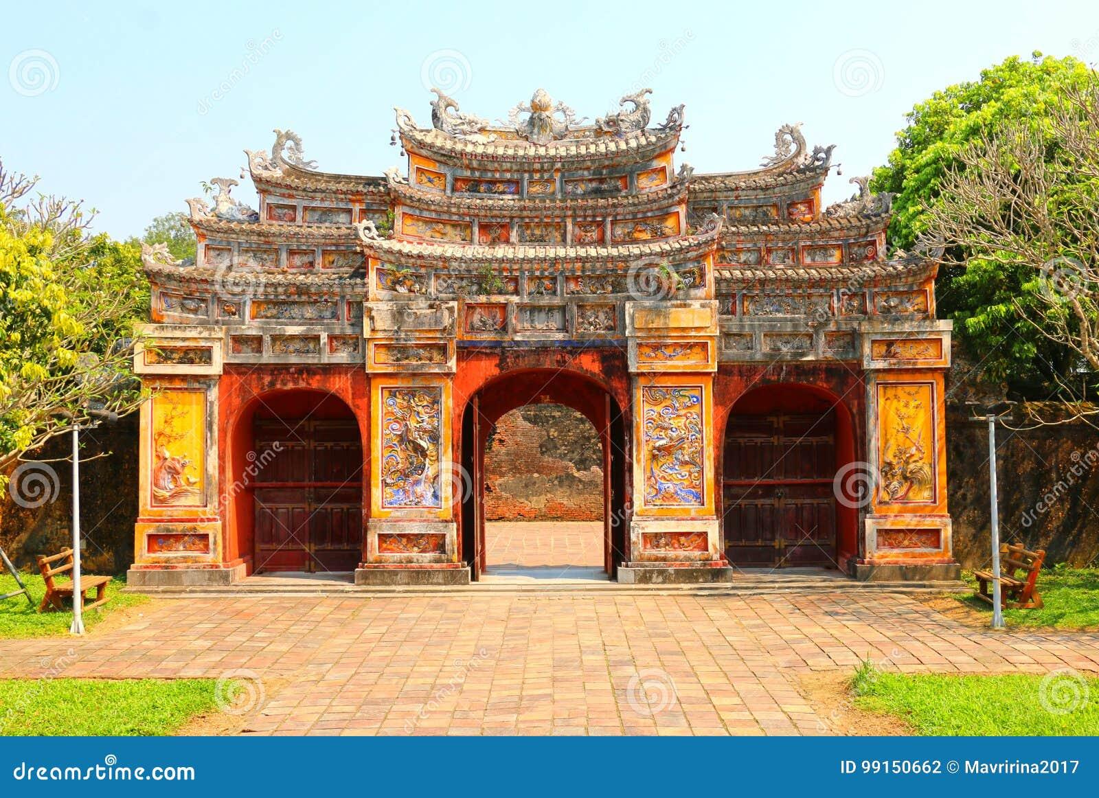 Portone della Città proibita alla tonalità, Vietnam