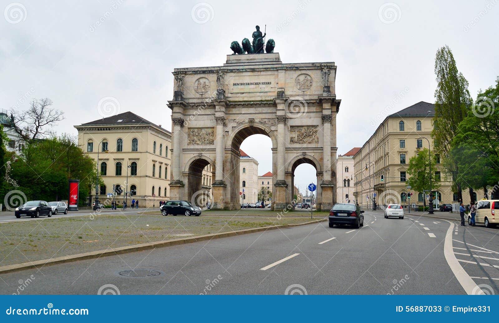 Portone di vittoria, Monaco di Baviera