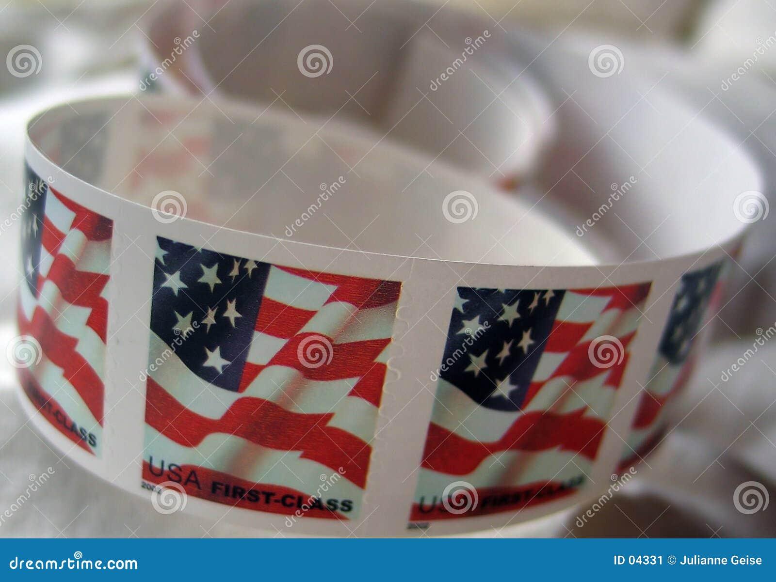 Portostämplar USA