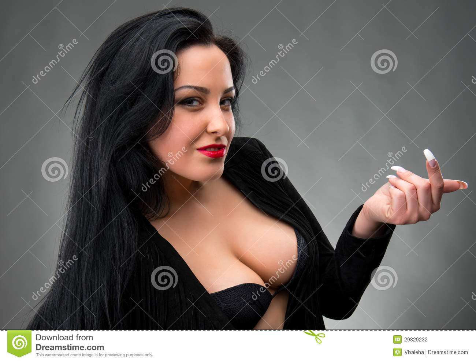 Holder smoking long nails 6