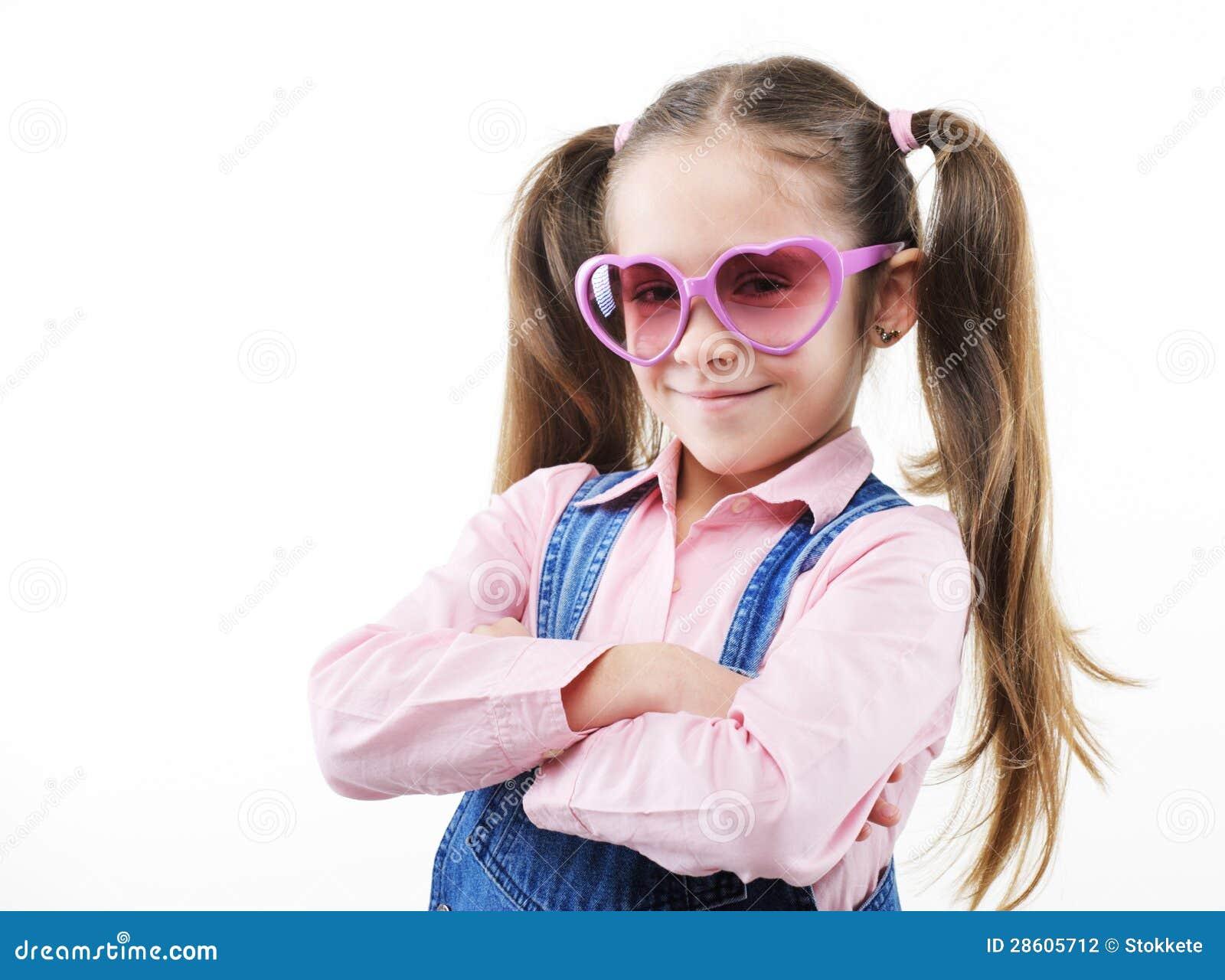 Porträt des kleinen Mädchens