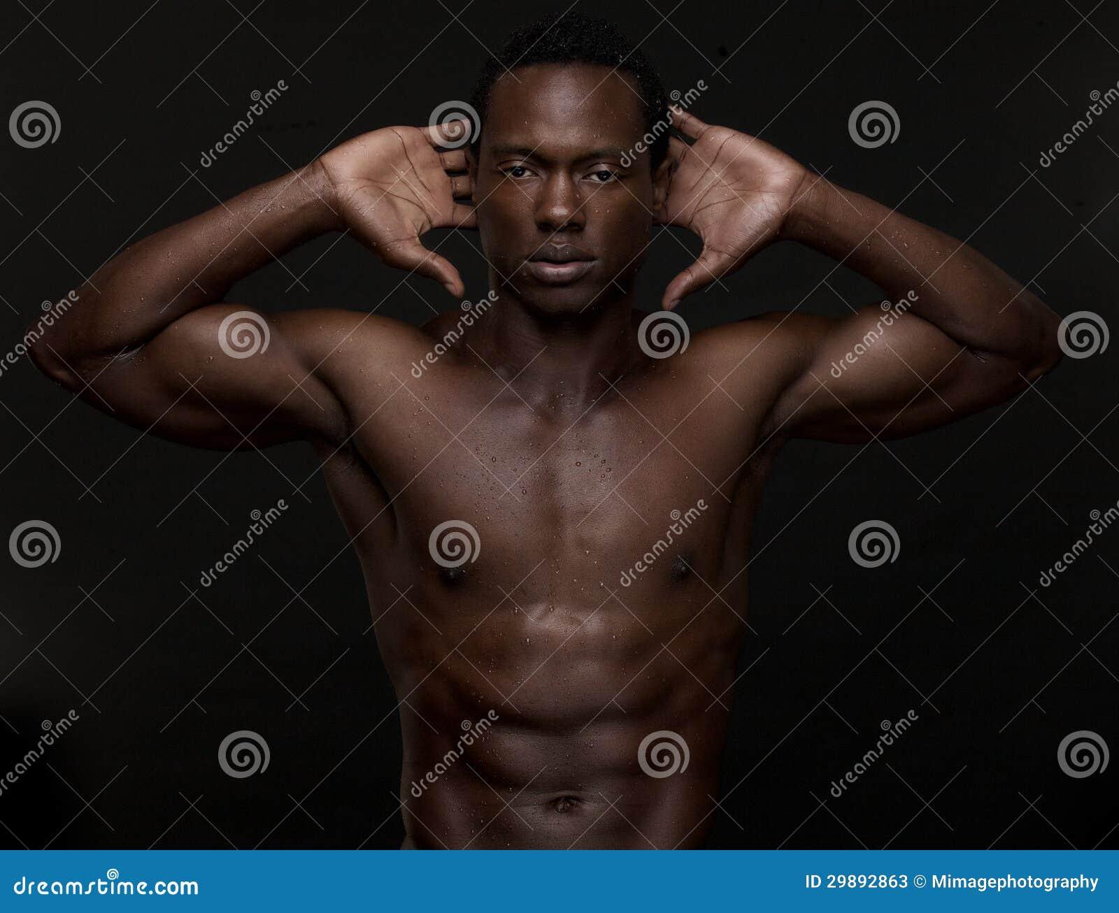 hübscher afroamerikanischer Mann