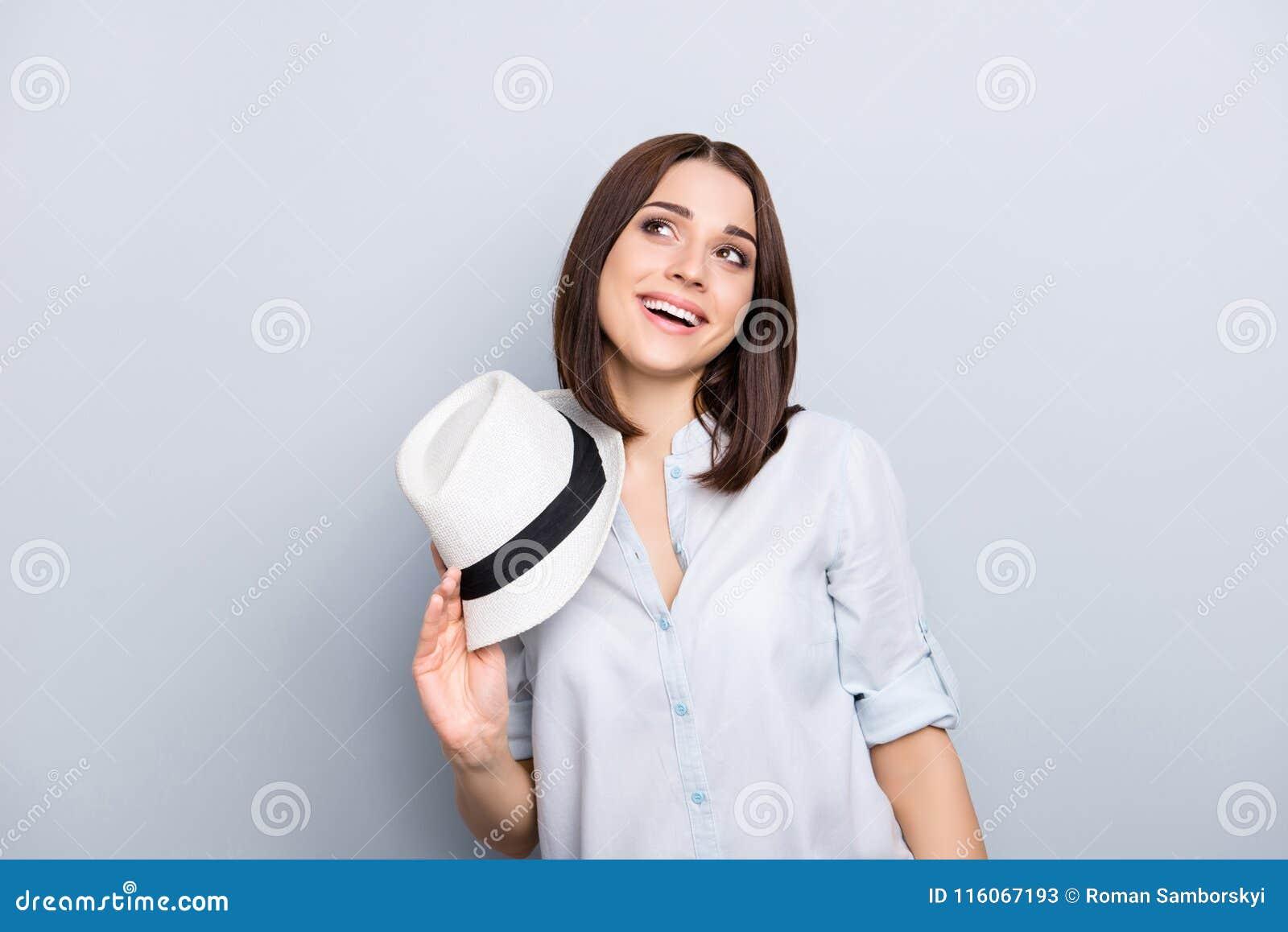 Porträt von recht, das Bezaubern, gekümmert, erwägen Geschäftsfrau in SH