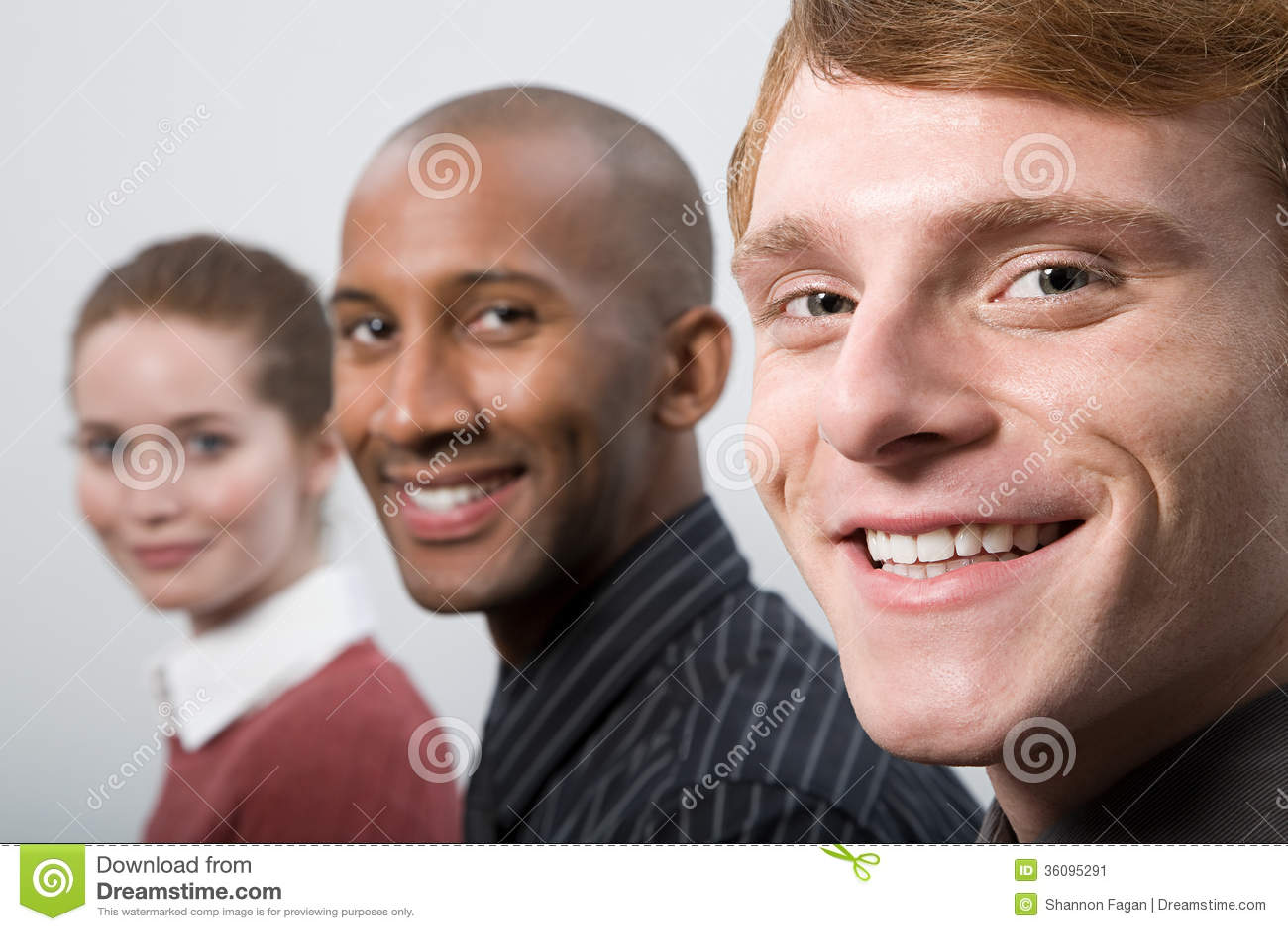 Porträt von Wirtschaftlern