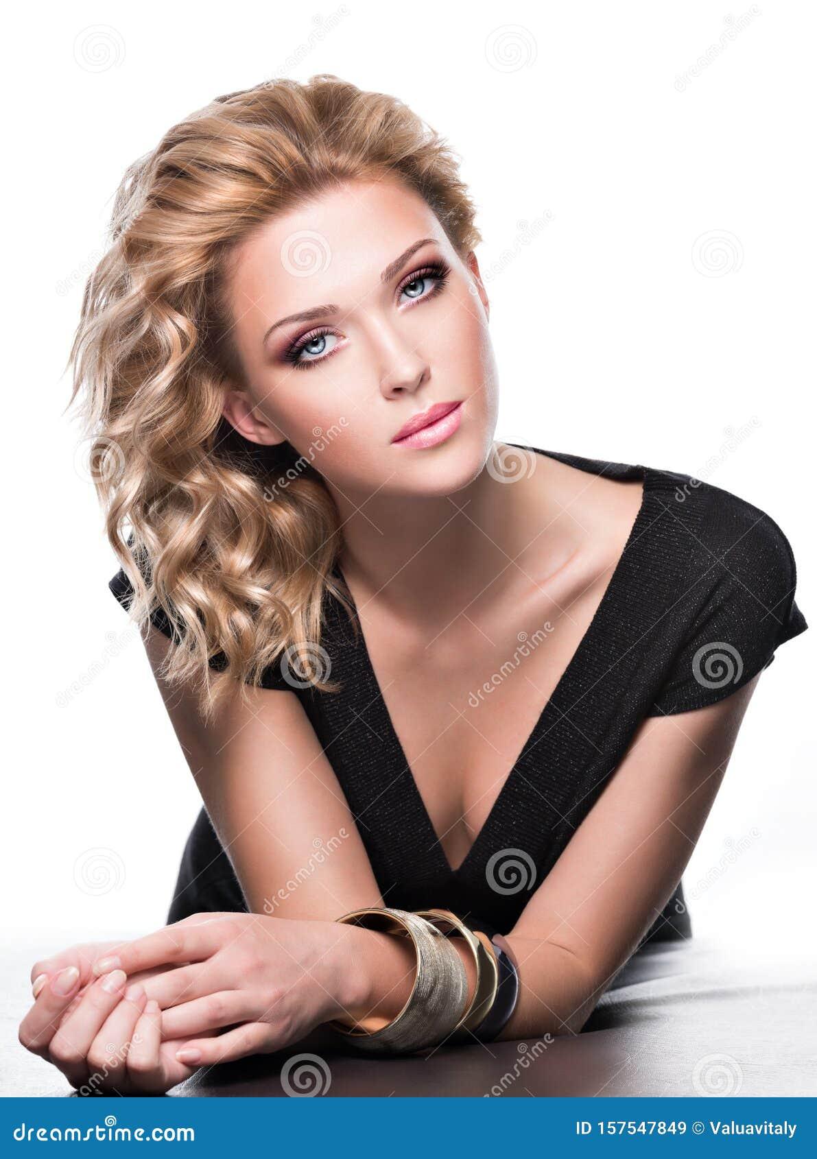 Vacker Kvinna Bild