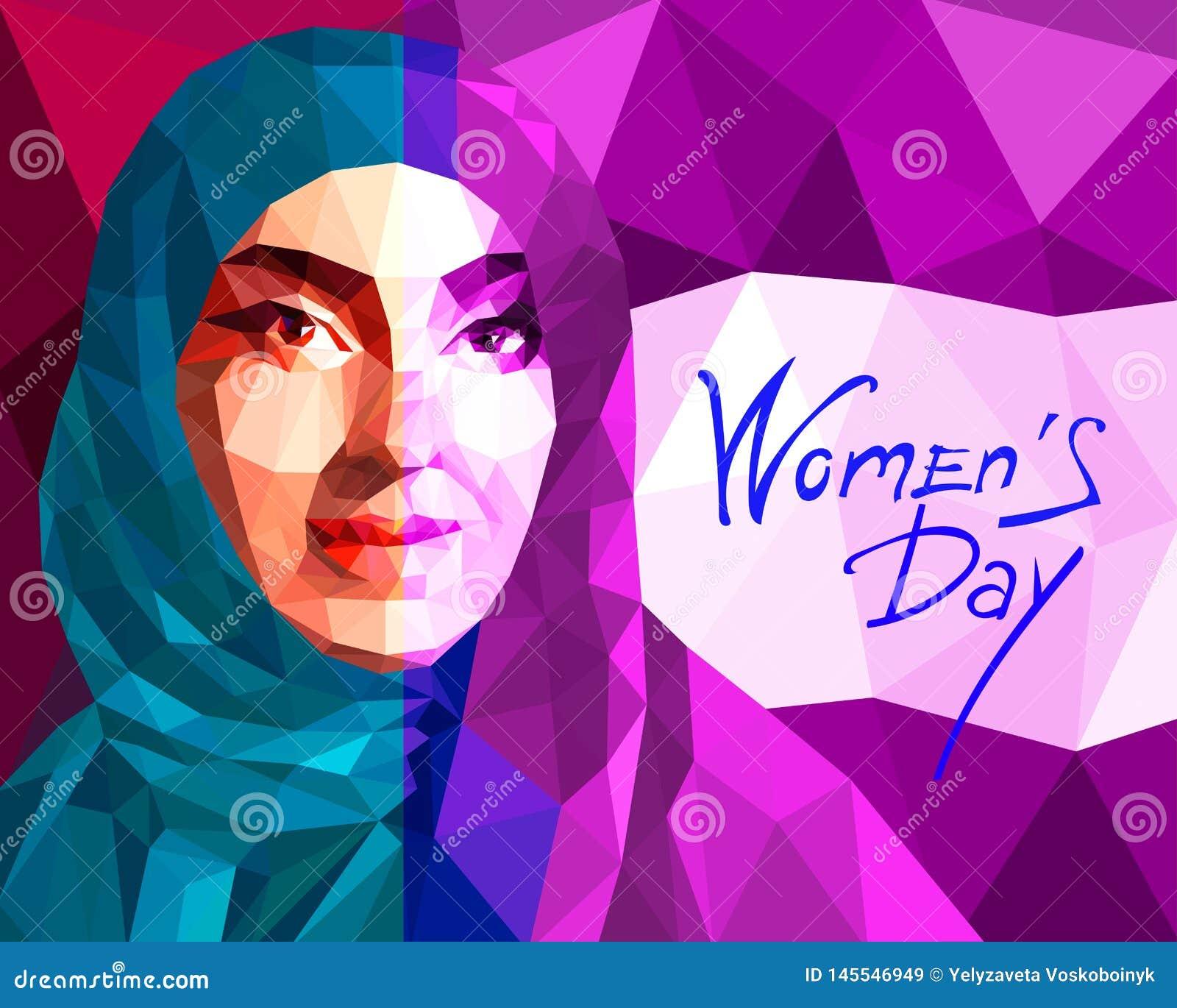 Portr?t eines arabische Frau tragenden hijab