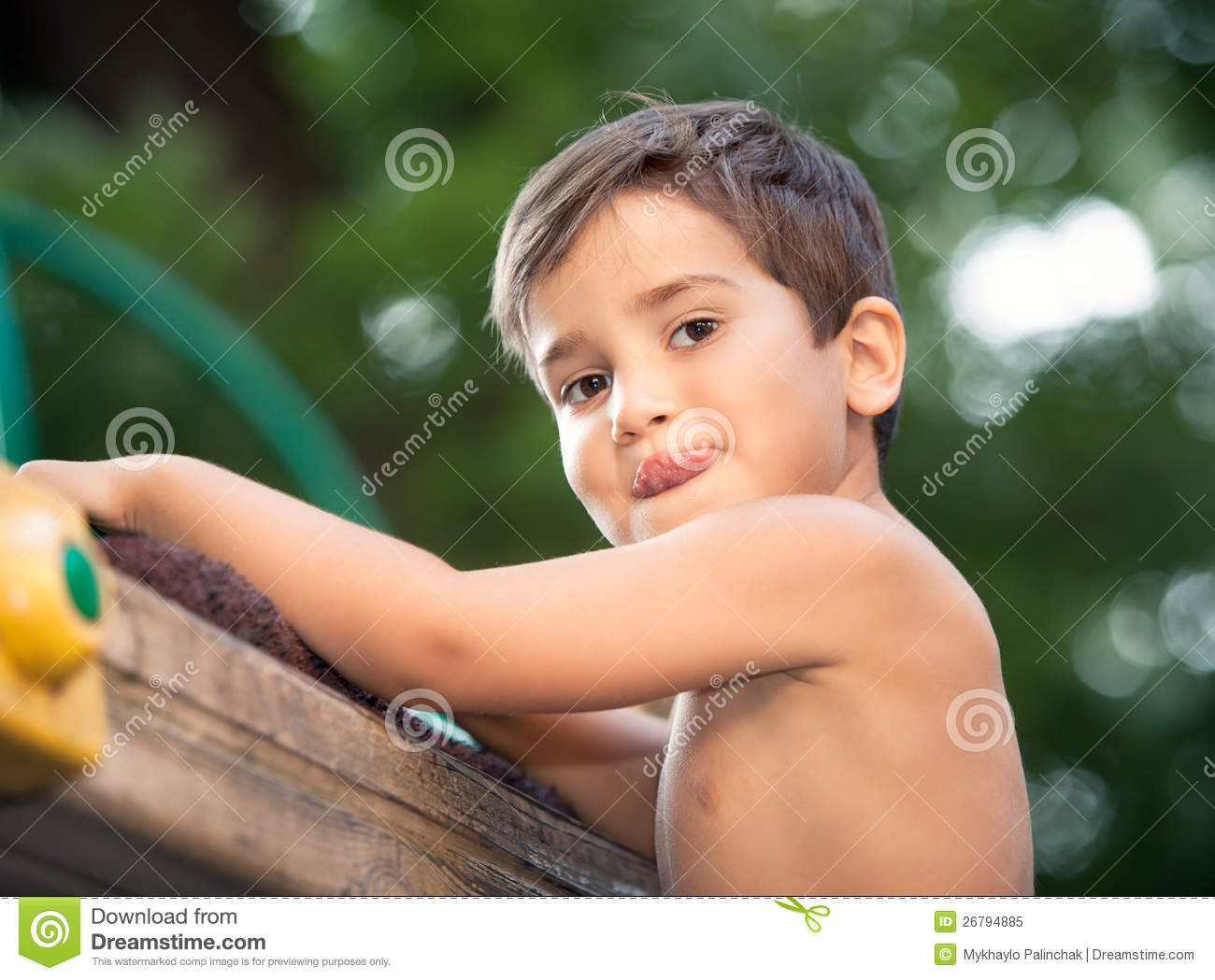 Portrait Of A 3 4 Years Boy Royalty Free Stock Photo Image 26794885