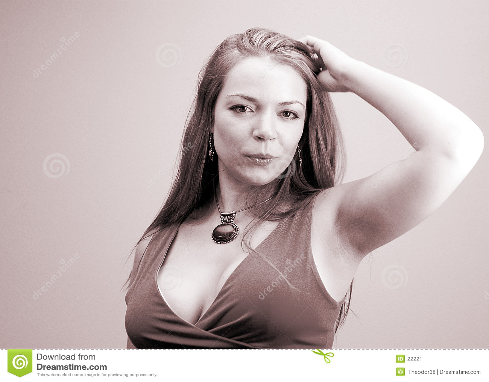 Portrait-5 de la mujer