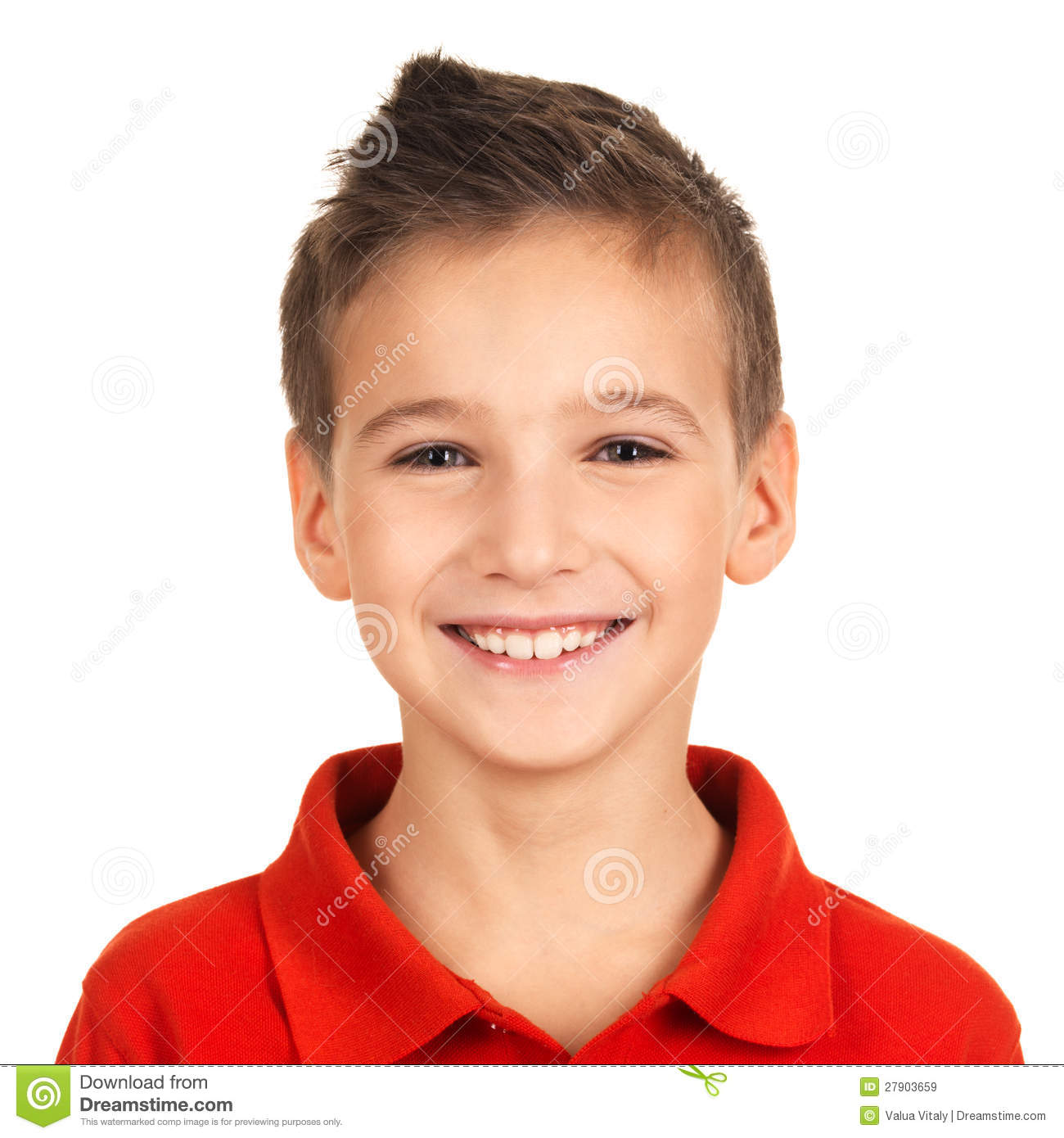 Portrait Of Adorable Young Happy Boy Royalty Free Stock Images - Image ...