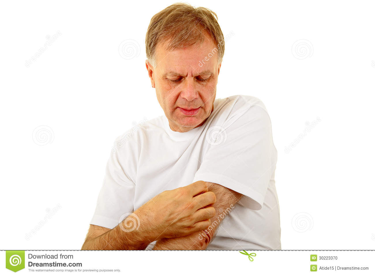 Itching Stock Photo - Image: 30223370