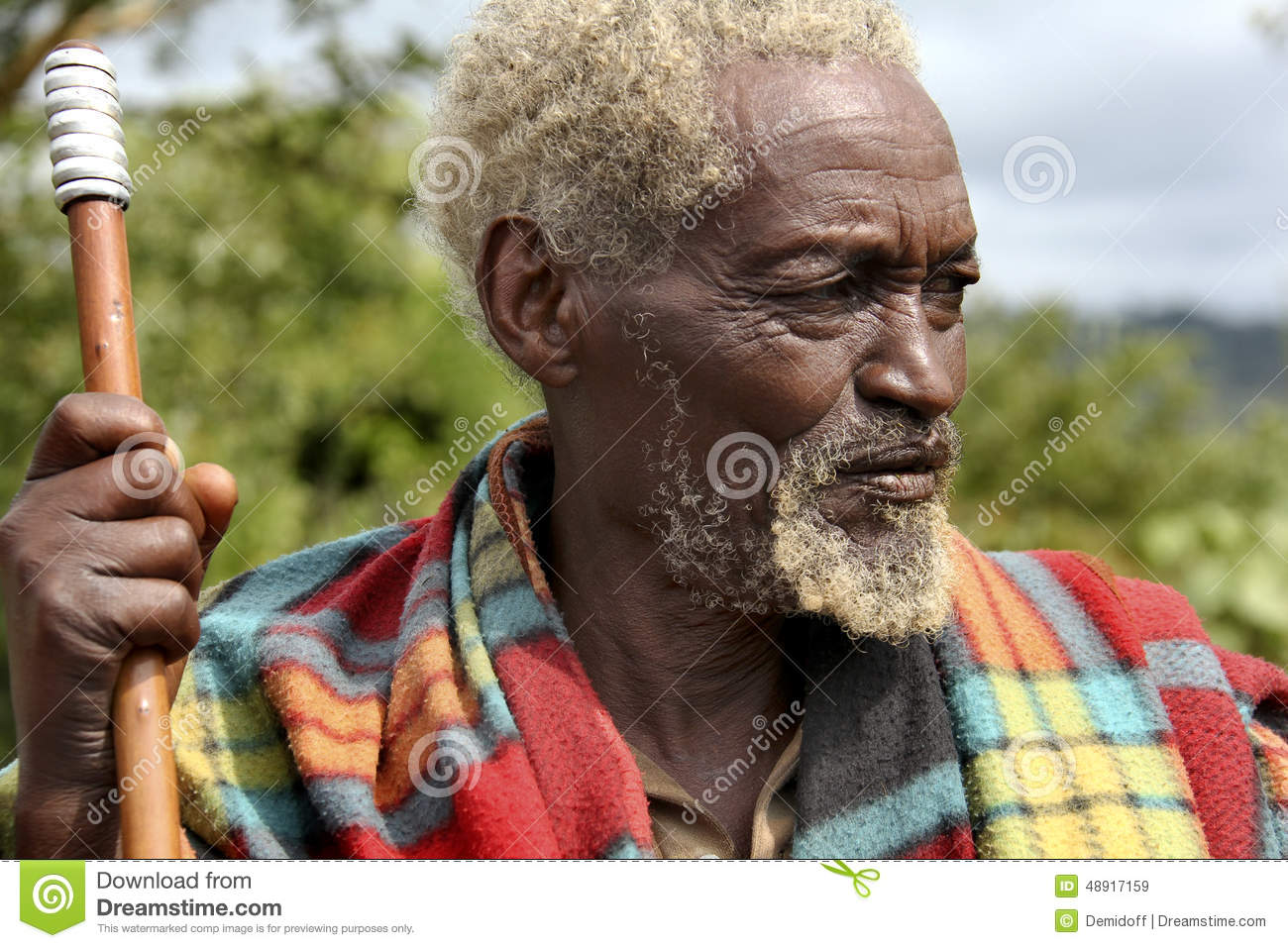 Larry african old man 4